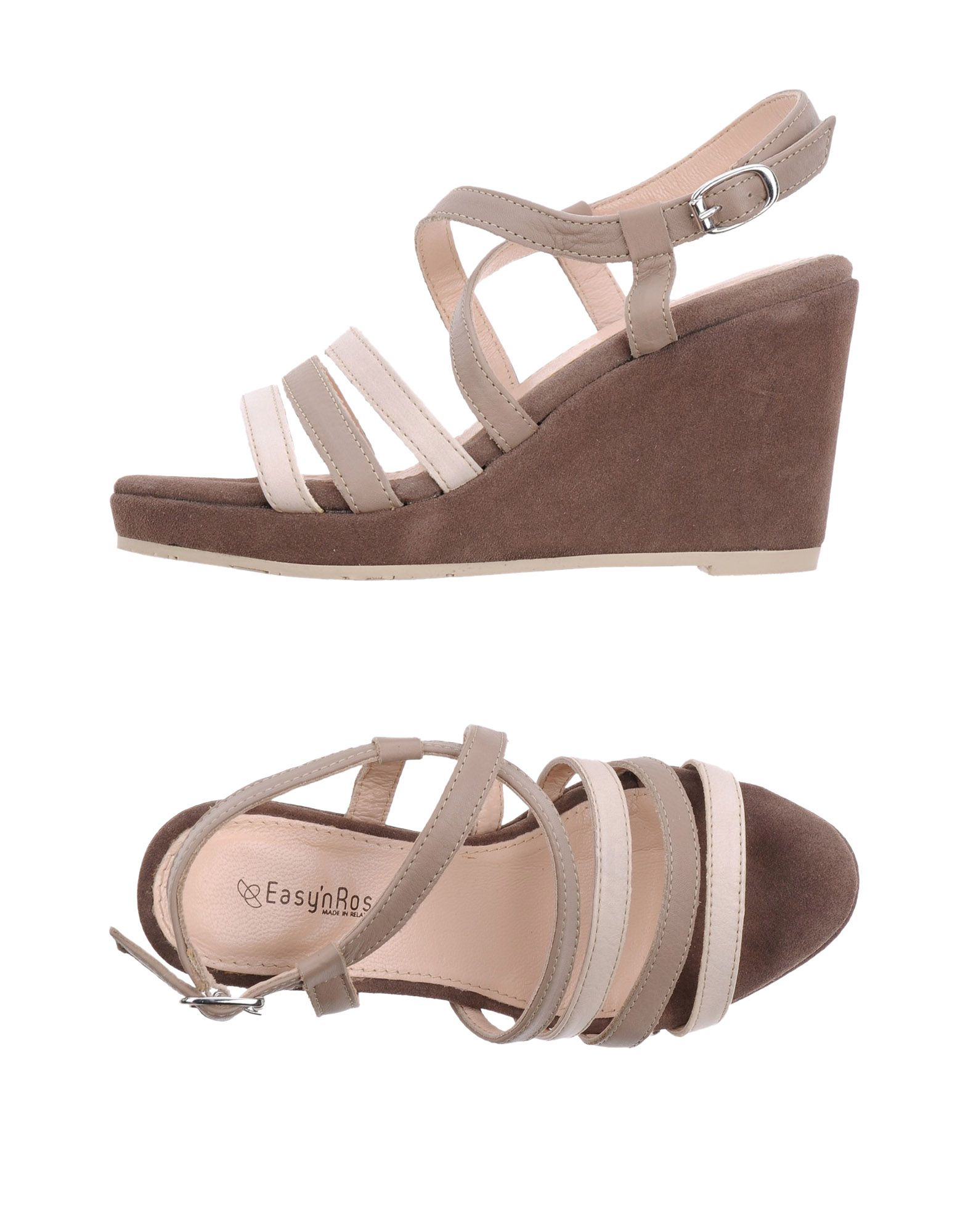 EASY'N ROSE Sandals Dove grey Women