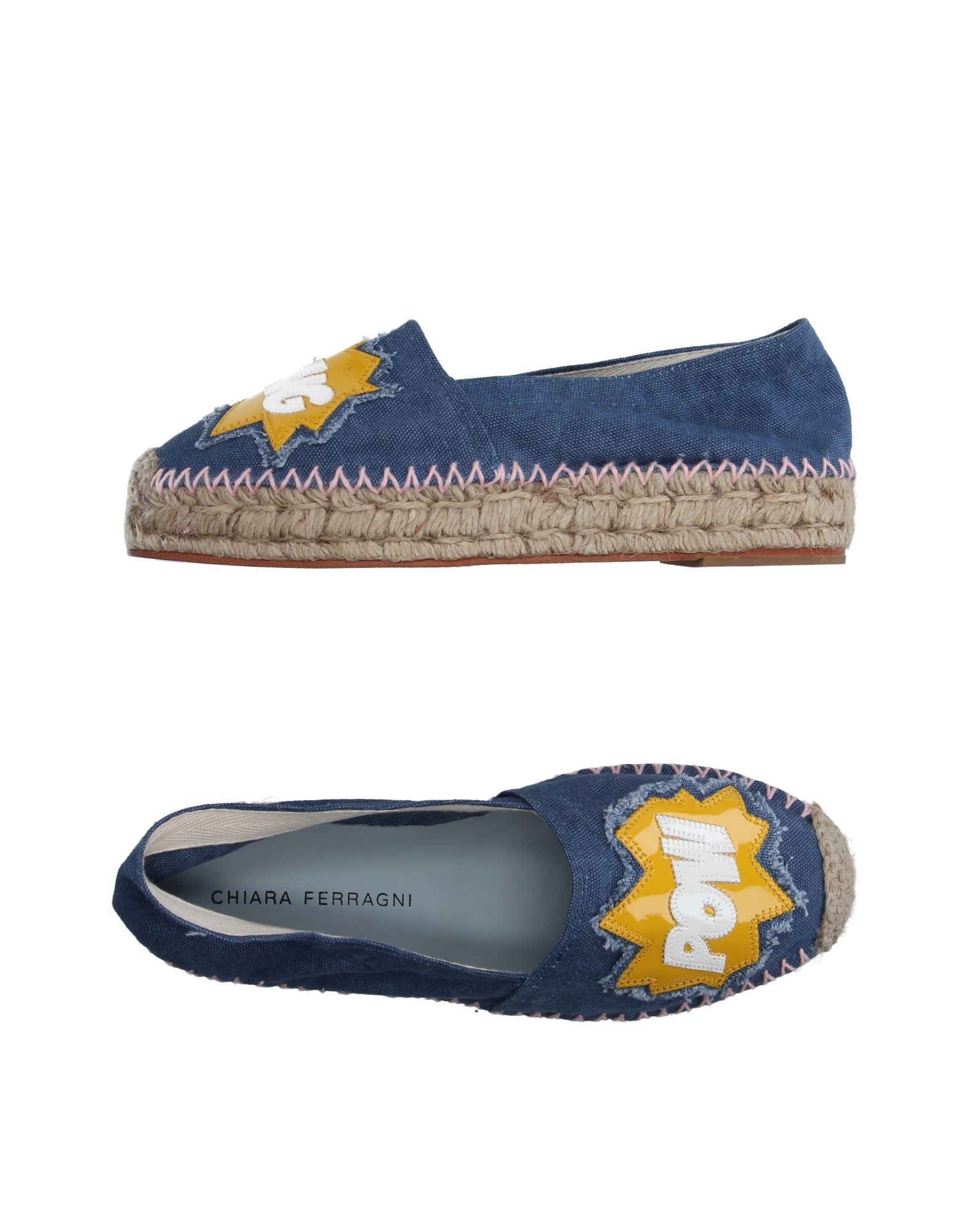 Stilvolle billige Schuhe Chiara Ferragni Espadrilles Damen  11132419LP