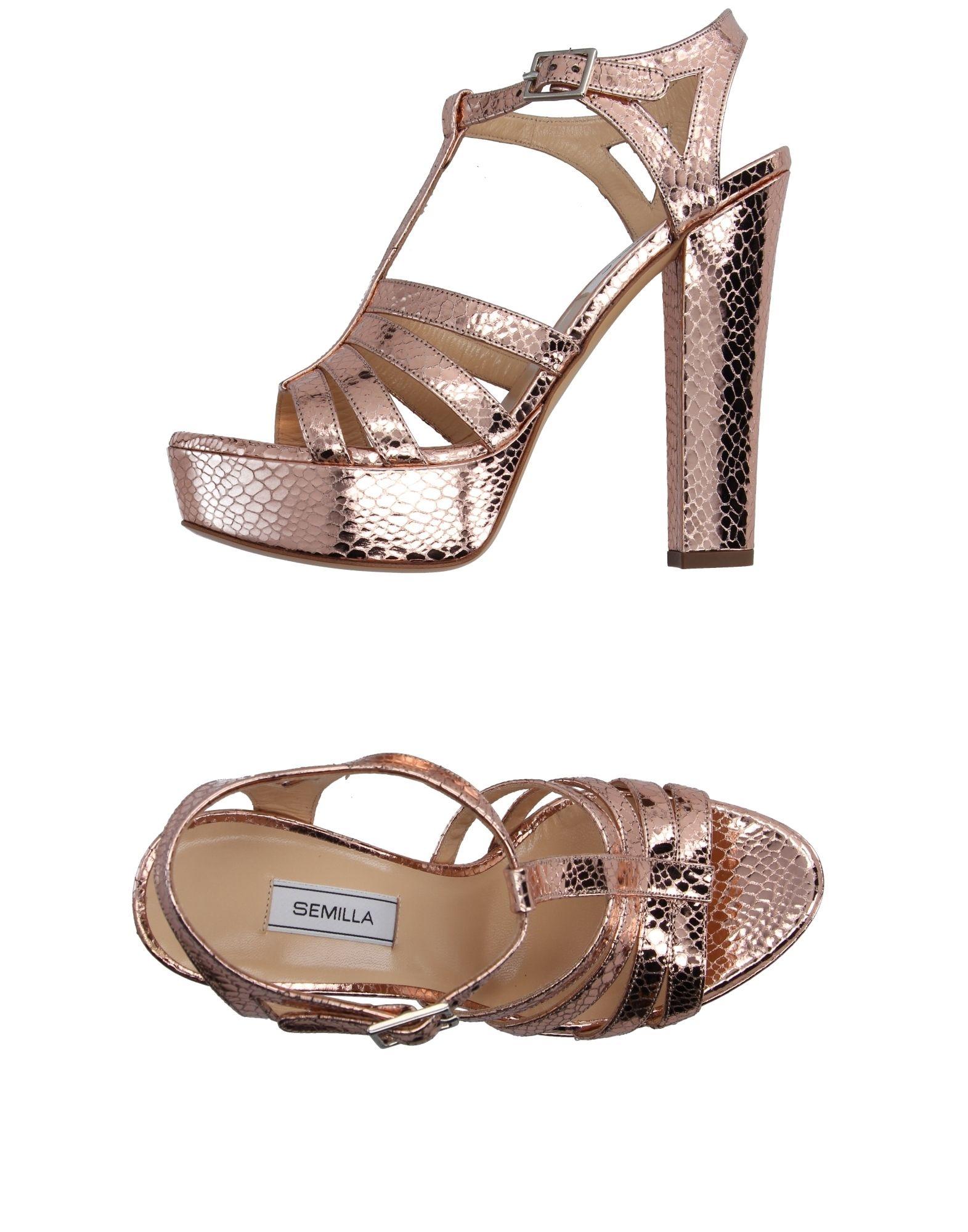 27b863d78671 Semilla Sandals - Women Semilla Sandals online on YOOX Belgium - 11132521JJ