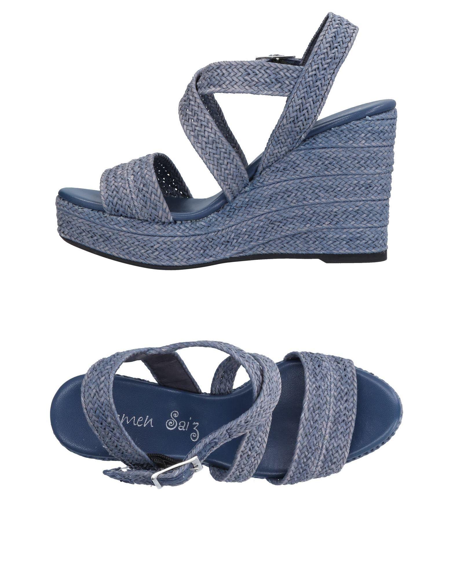 Carmen Saiz Sandalen Damen  11133542NM Gute Qualität beliebte Schuhe