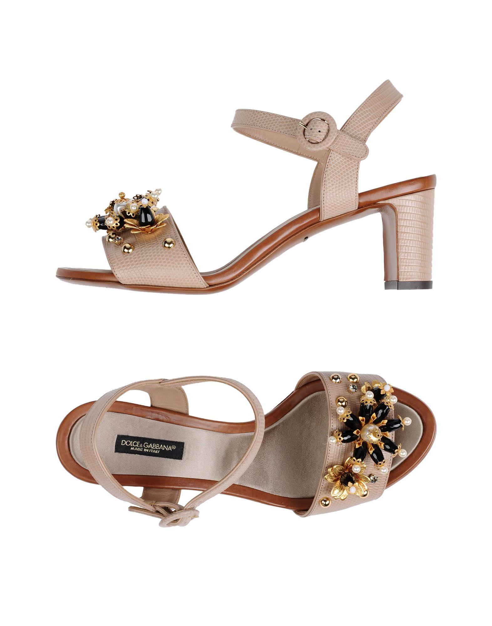 Dolce & Gabbana Sandalen Damen  11134092NBGünstige gut aussehende Schuhe