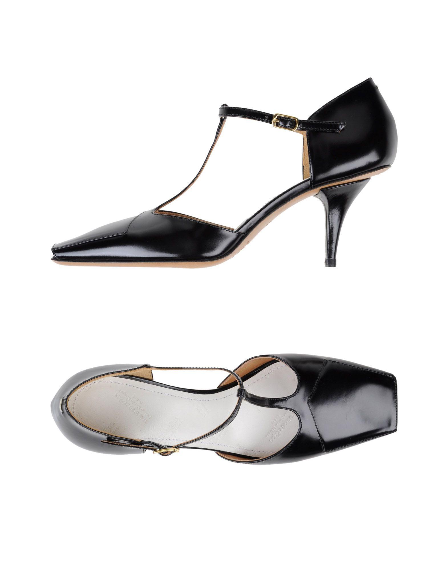 Casual salvaje Zapato De Salón Maison Margiela Salones Mujer - Salones Margiela Maison Margiela  Negro bc4e65