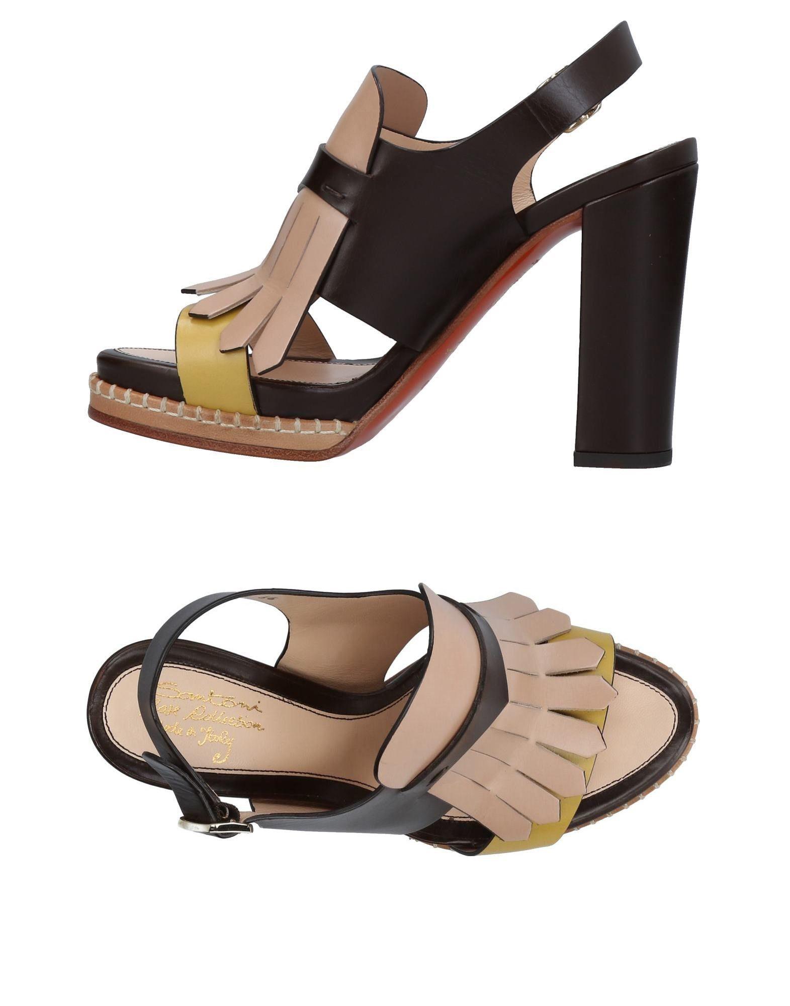 Rabatt Schuhe Santoni Sandalen Damen  11135383TM