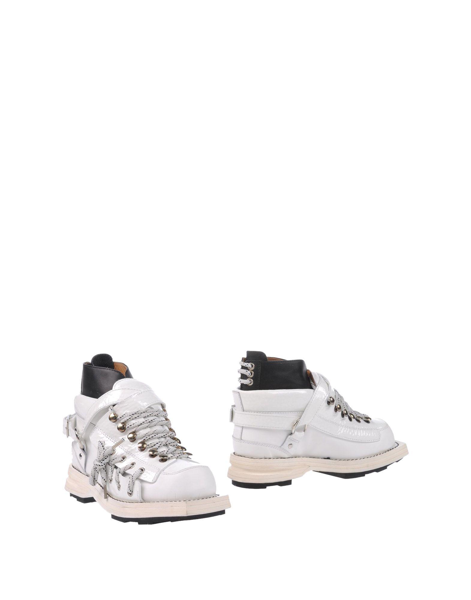 Bottine Acne Studios Femme - Bottines Acne Studios Blanc Chaussures femme pas cher homme et femme