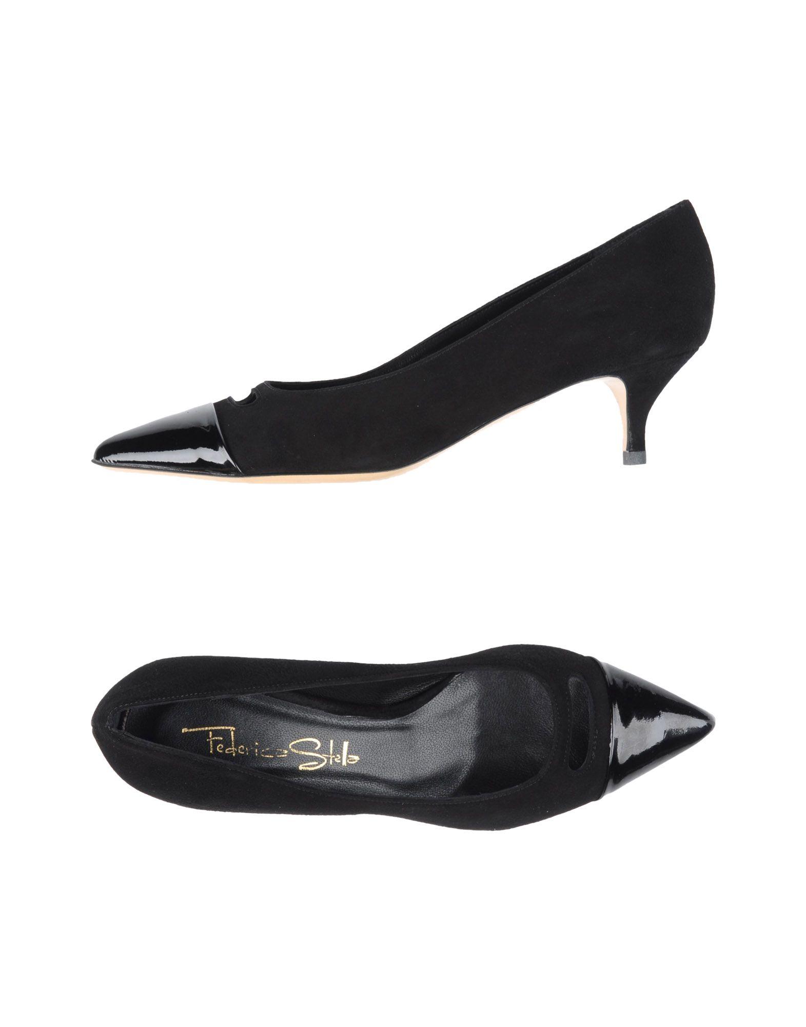 Gran descuento Zapato De Salón Federica Stella Stella Federica Mujer - Salones Federica Stella  Negro d00df5