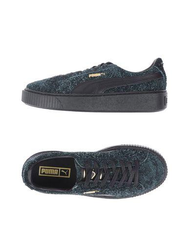 Puma Suede Platform Elemental Sneakers Donna Scarpe Nero