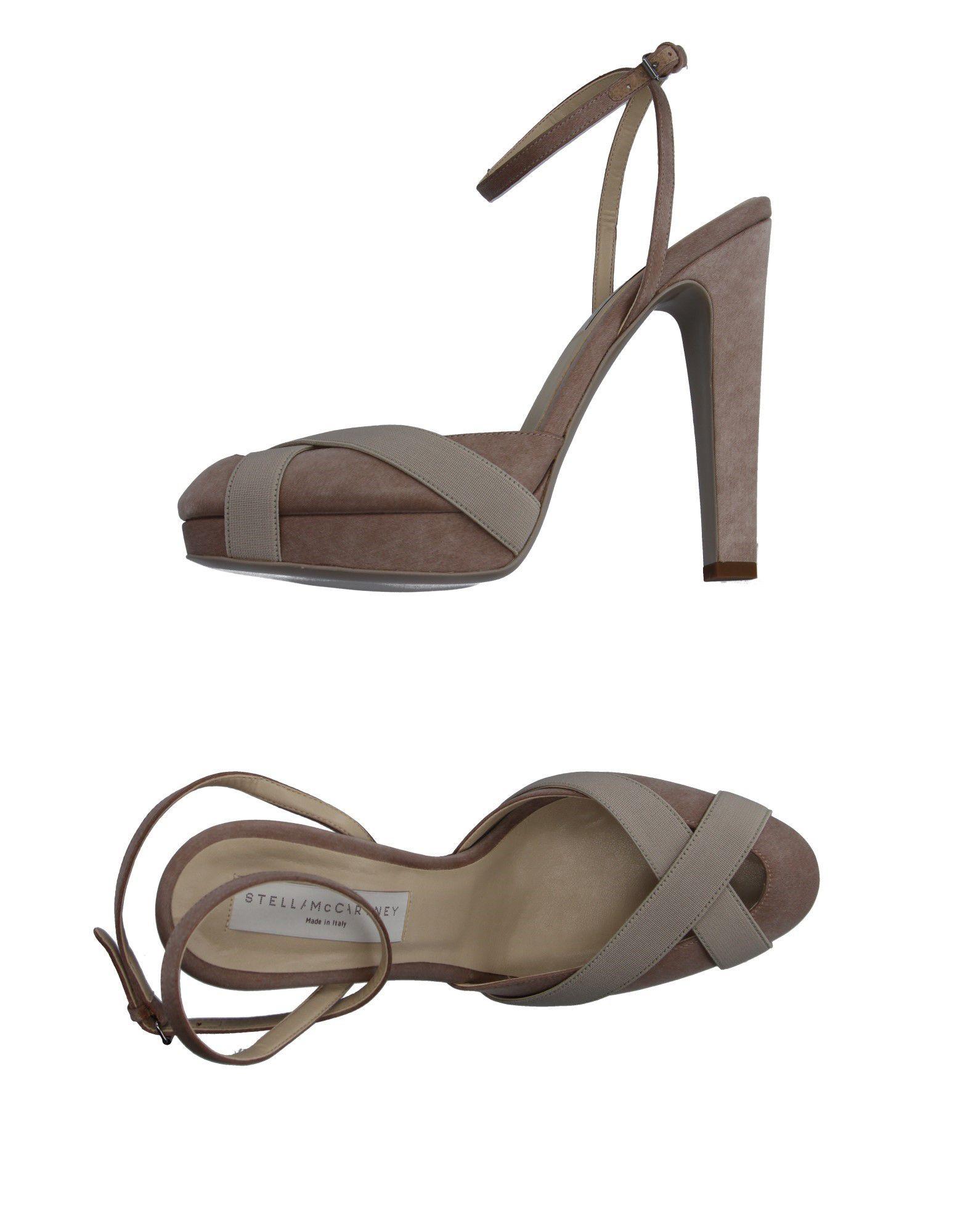 Rabatt Schuhe Stella Mccartney Sandalen Damen 11137641PT