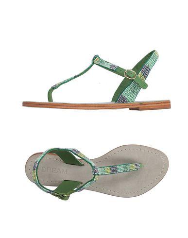 DREAM Flip Flops in Green