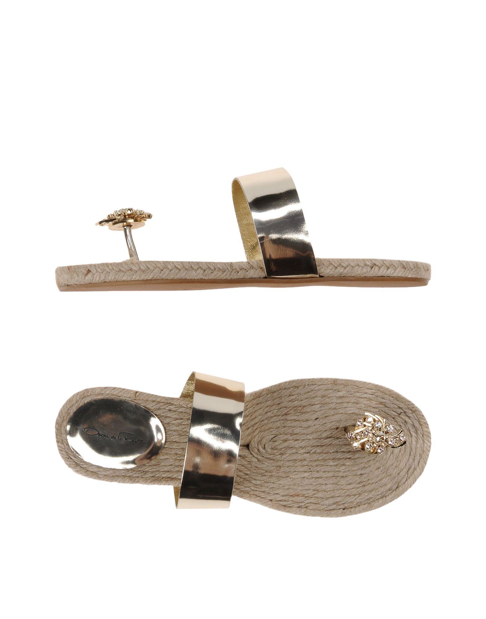 Rabatt Schuhe Oscar De La Renta Dianetten Damen  11139305NF