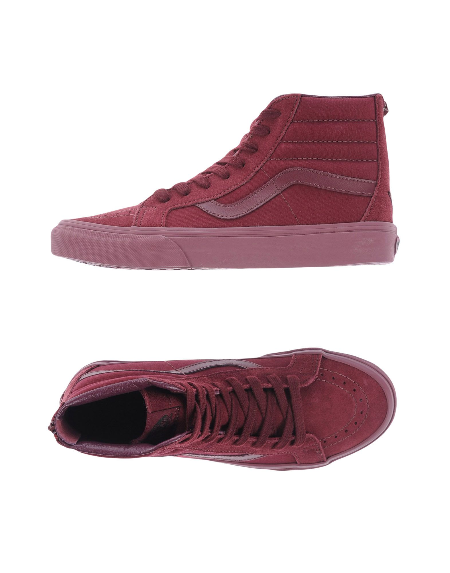 d98b2c10b Vans U Sk8-Hi Reissue Zip Mono Port Roy - Sneakers - Women Vans ...