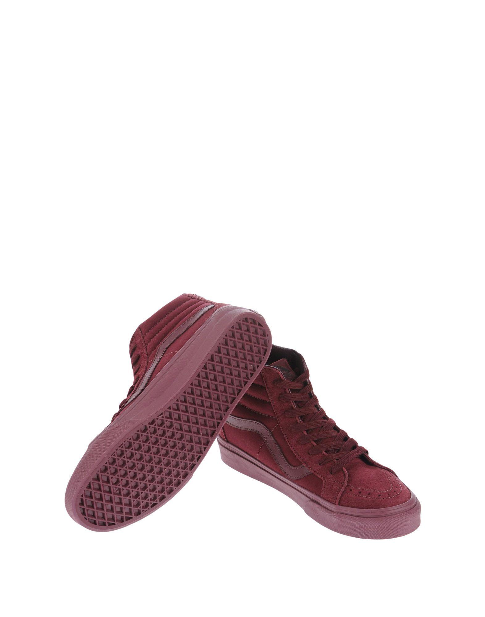 Sneakers Vans U Sk8-Hi Reissue Zip Mono Port Roy - Femme - Sneakers Vans sur