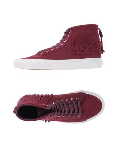 938866b6ed Vans U Sk8-Hi Moc Suede Port Ro - Sneakers - Women Vans Sneakers ...