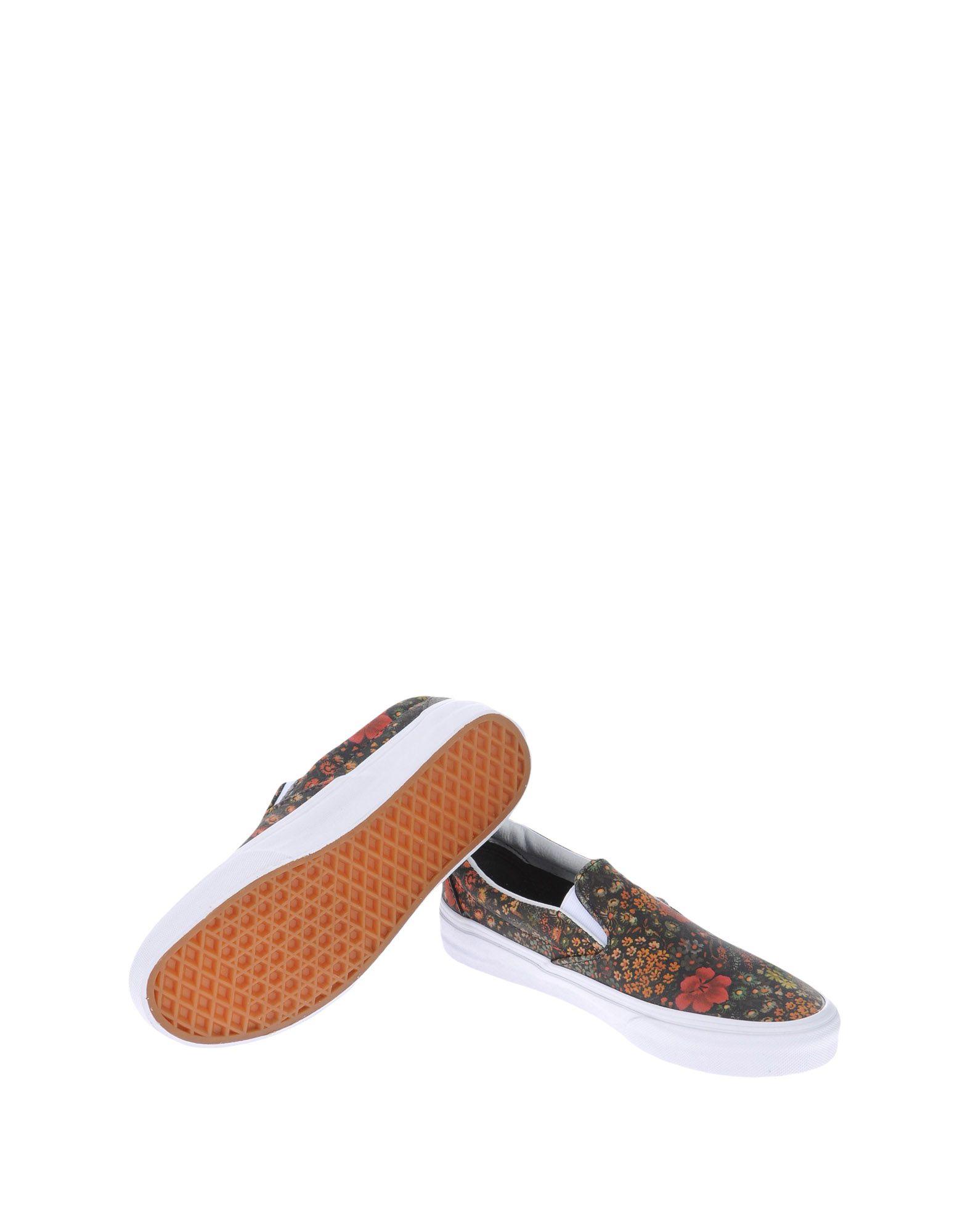 Vans U Classic Slip-On Floral Leather - Sneakers Sneakers - Women Vans Sneakers - online on  Canada - 11139568JG ca8918