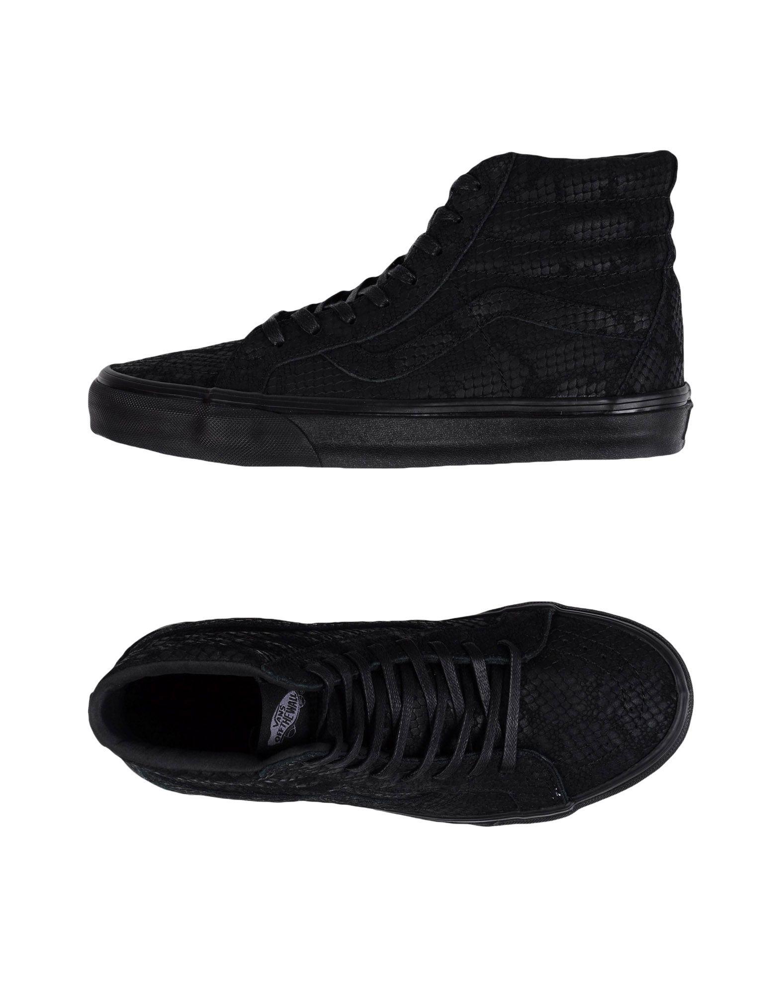 Sneakers Vans U Sk8-Hi Reissue Dx Reptile Black - Donna - 11140311SI