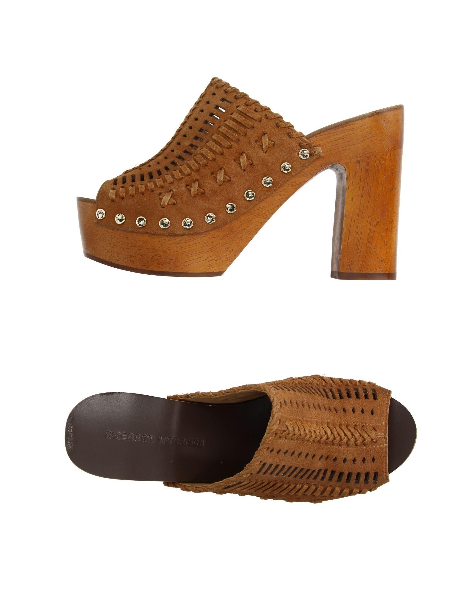 Sigerson Morrison Sandalen Damen  11140428GVGut aussehende aussehende aussehende strapazierfähige Schuhe 062be8