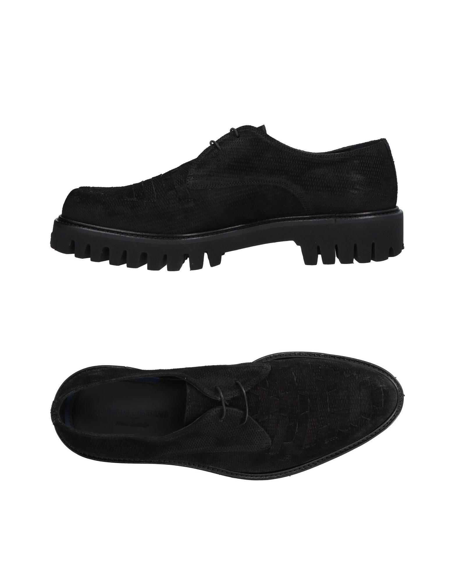 Rabatt echte Schuhe Alberto Guardiani Schnürschuhe Herren  11140983BU