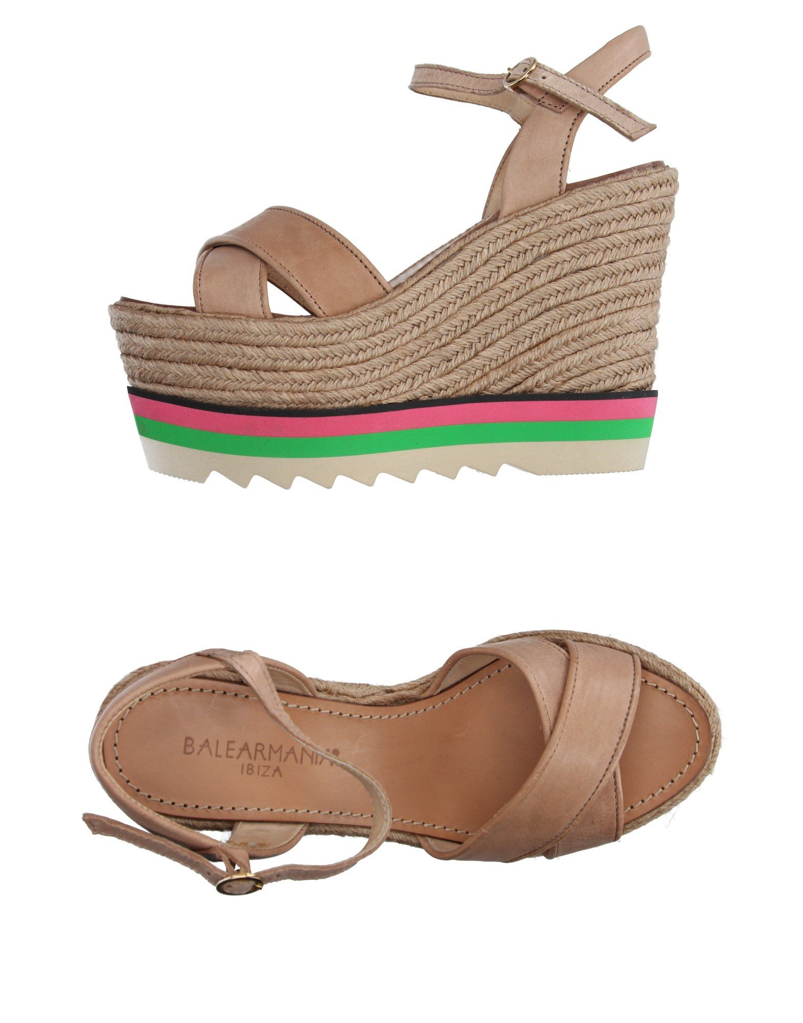 Gut Mania um billige Schuhe zu tragenBalear Mania Gut Espadrilles Damen  11141199RO 573355