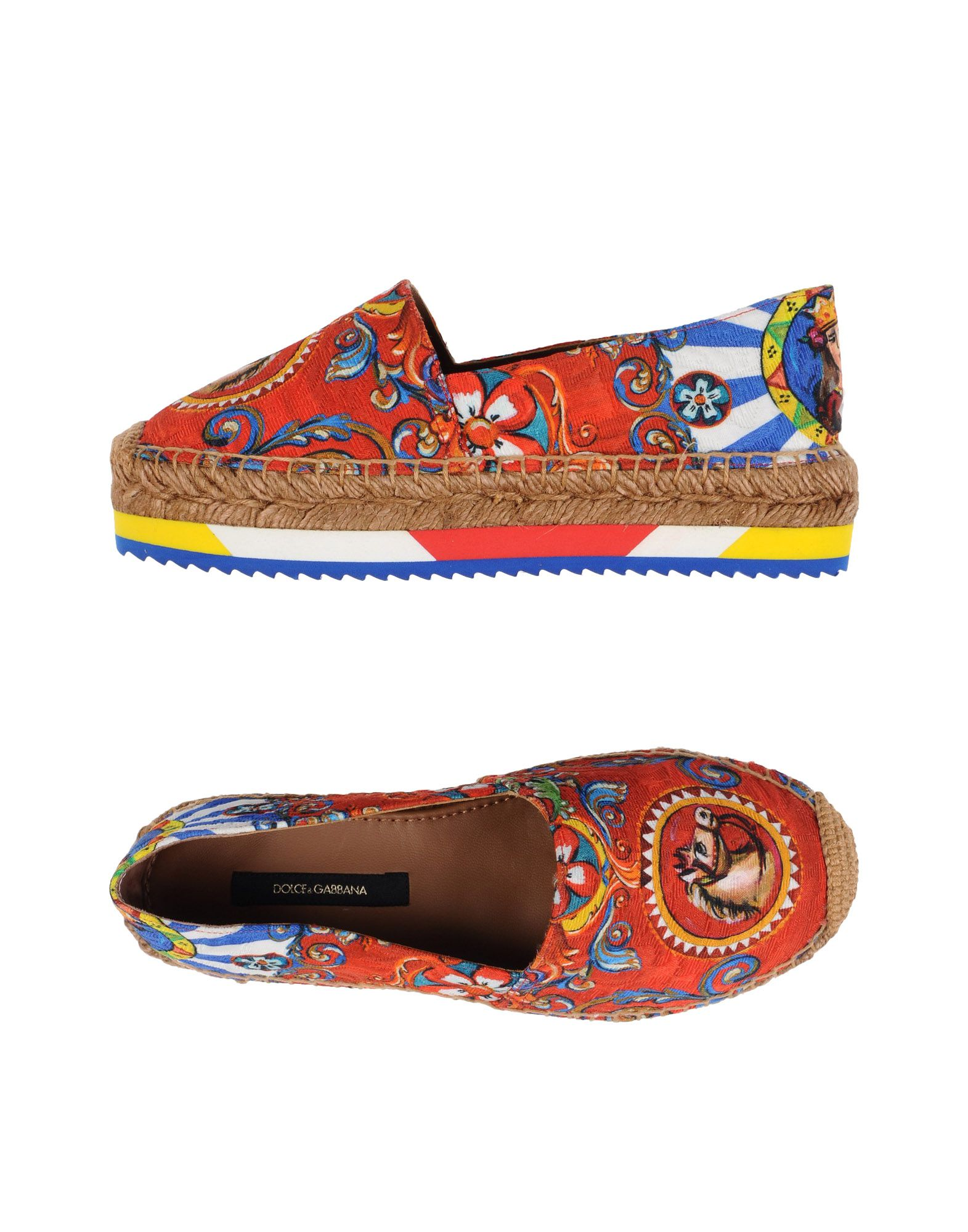 Dolce & Gabbana Espadrilles Damen  11142779UBGünstige gut aussehende Schuhe