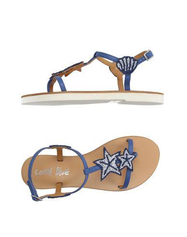 CORAL BLUE - Flip flops