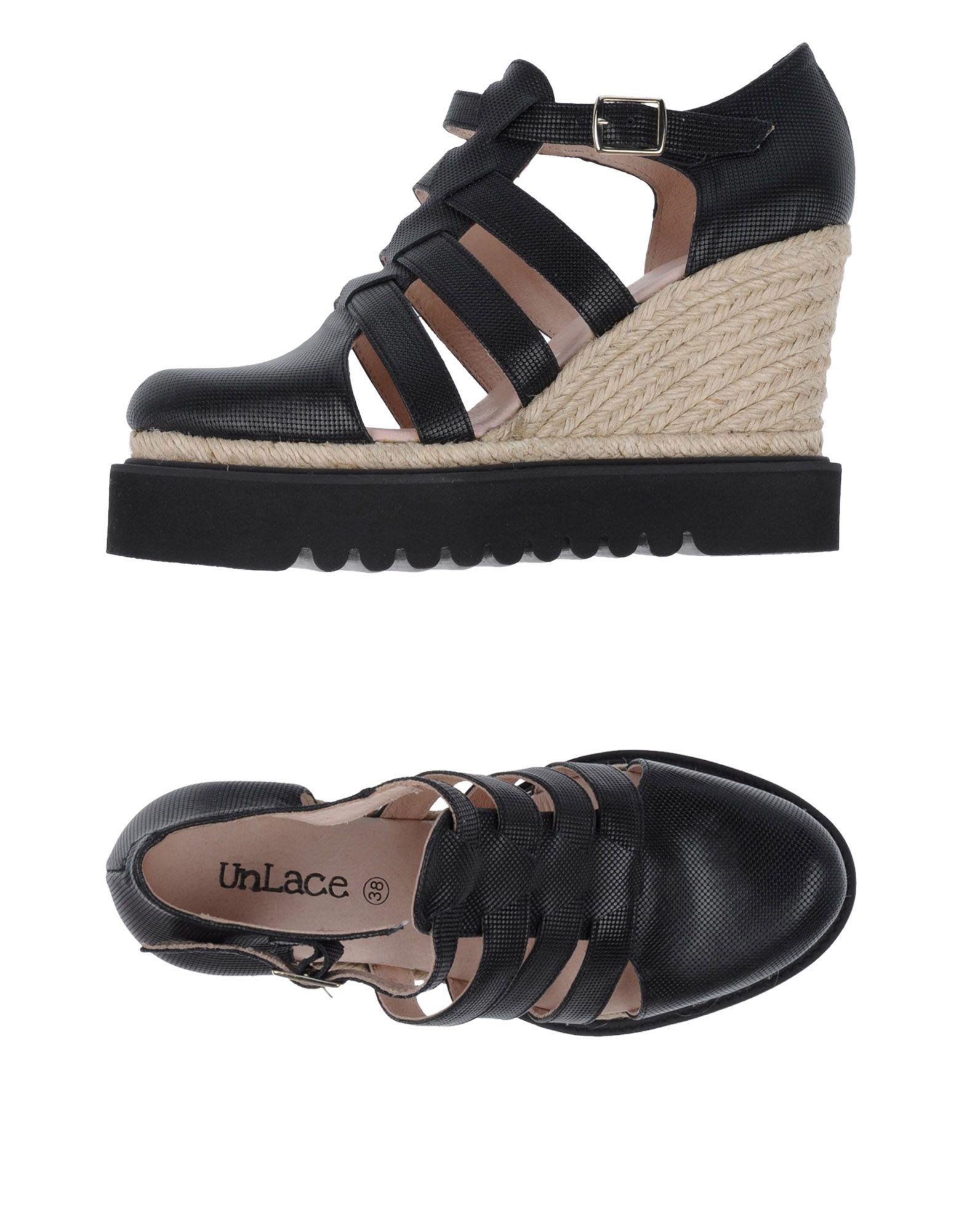Gut um billige Schuhe zu tragenUnlace Espadrilles Damen  11145822XJ