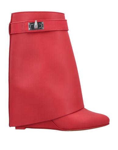Givenchy Ankle Boot In Red