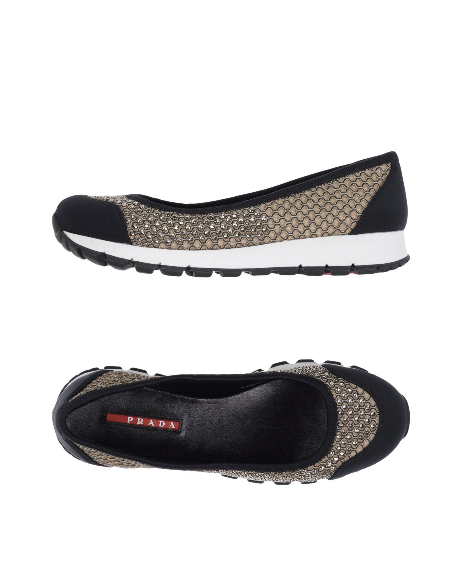 Rabatt Schuhe Prada Sport Ballerinas Damen  11147161RW