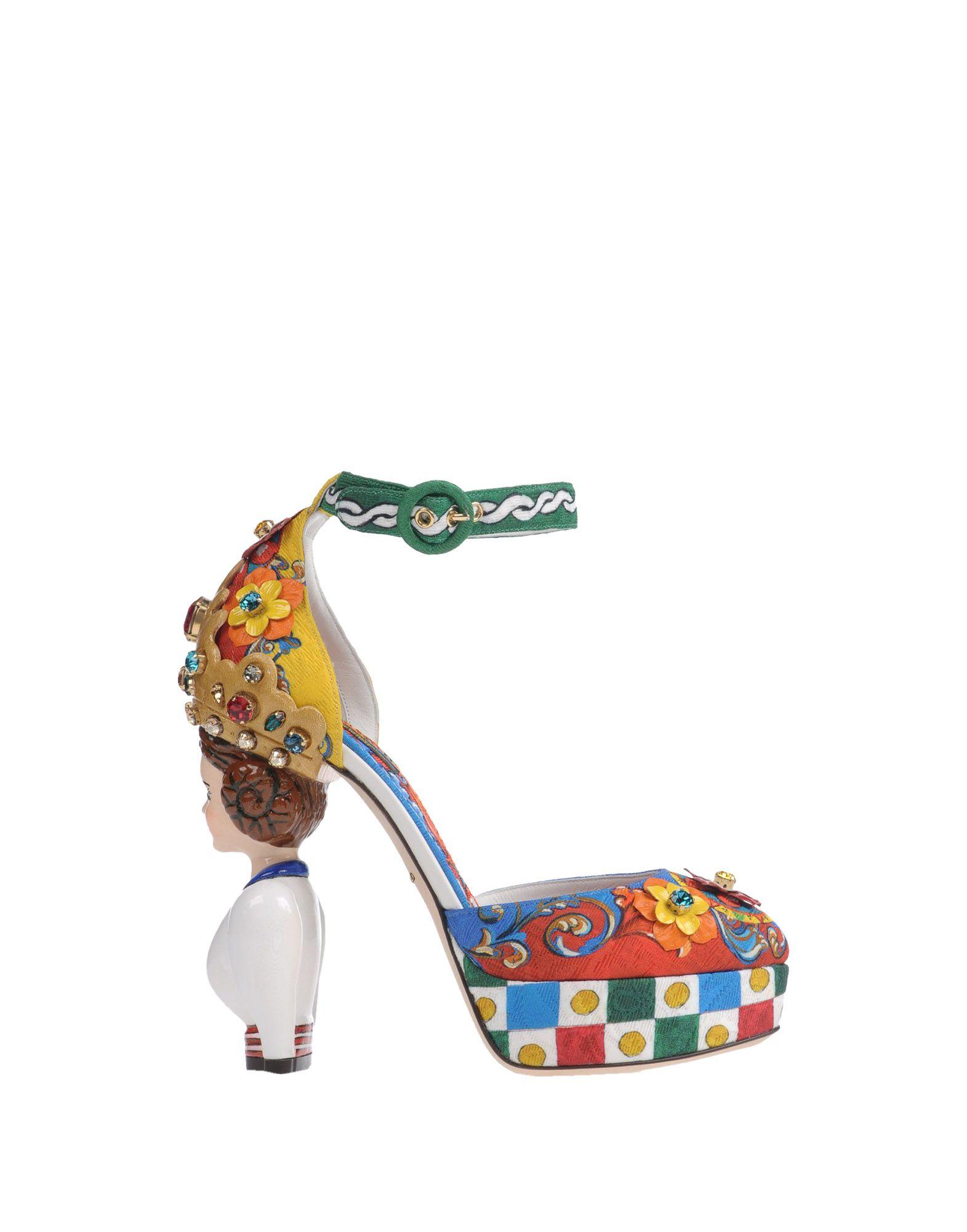 Dolce & Gabbana Pumps Damen Schuhe  11150499FNGünstige gut aussehende Schuhe Damen b671a0