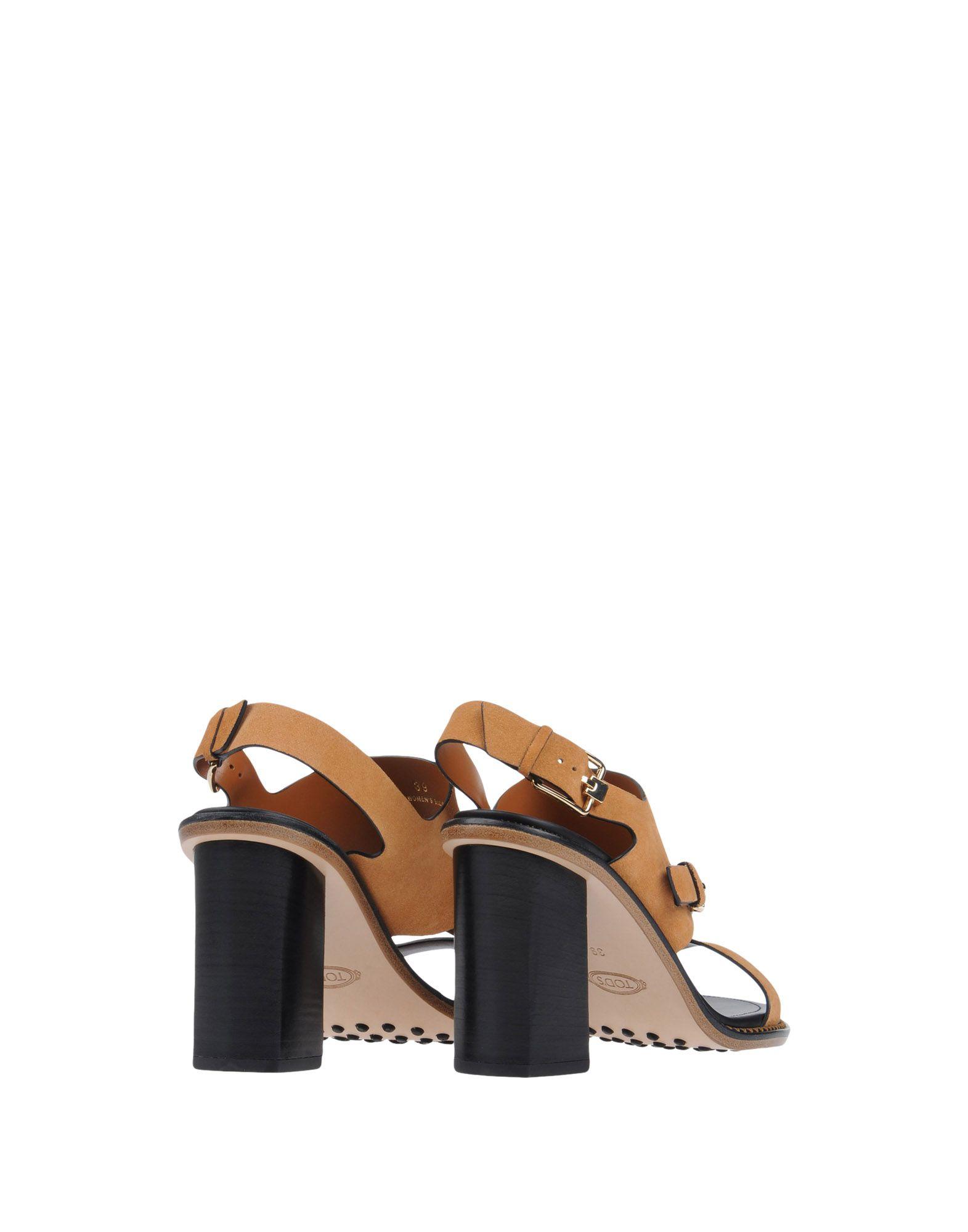 Tod's Sandalen Damen  strapazierfähige 11150735MAGut aussehende strapazierfähige  Schuhe c65bd5