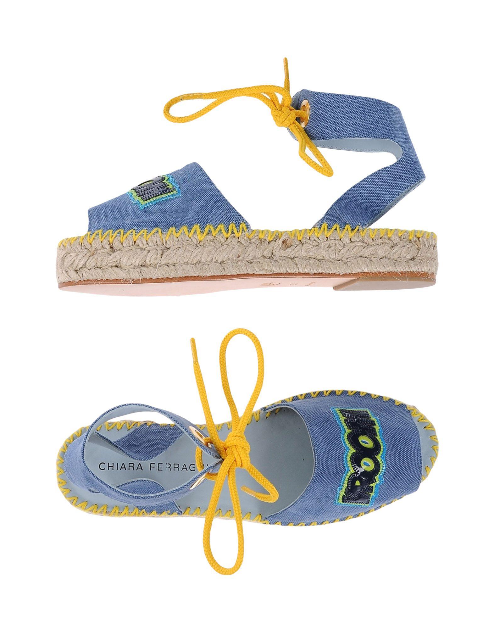 Gut Ferragni um billige Schuhe zu tragenChiara Ferragni Gut Espadrilles Damen  11153227CV 394d39