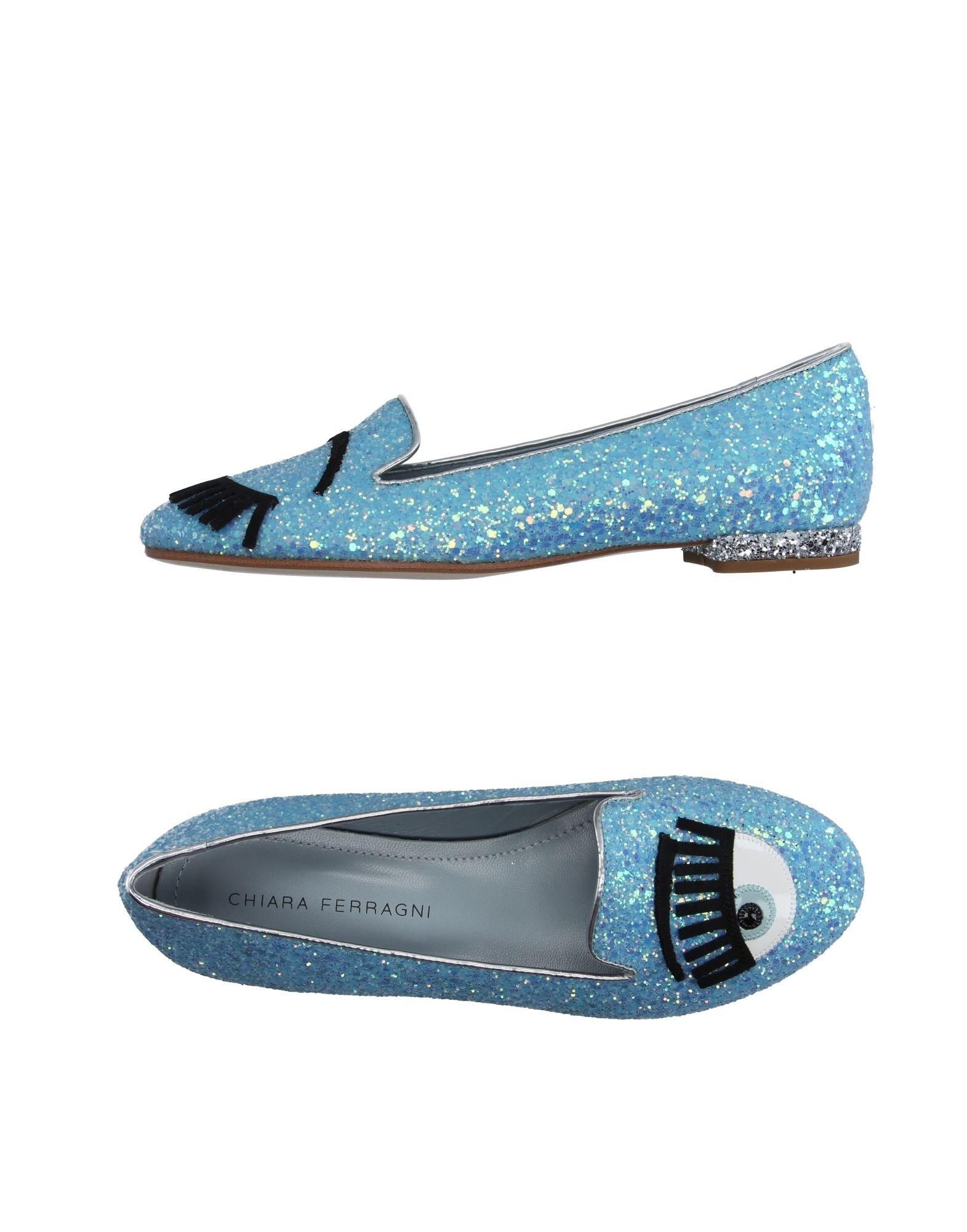 Stilvolle billige Schuhe Chiara Ferragni Mokassins Damen  11153415UV