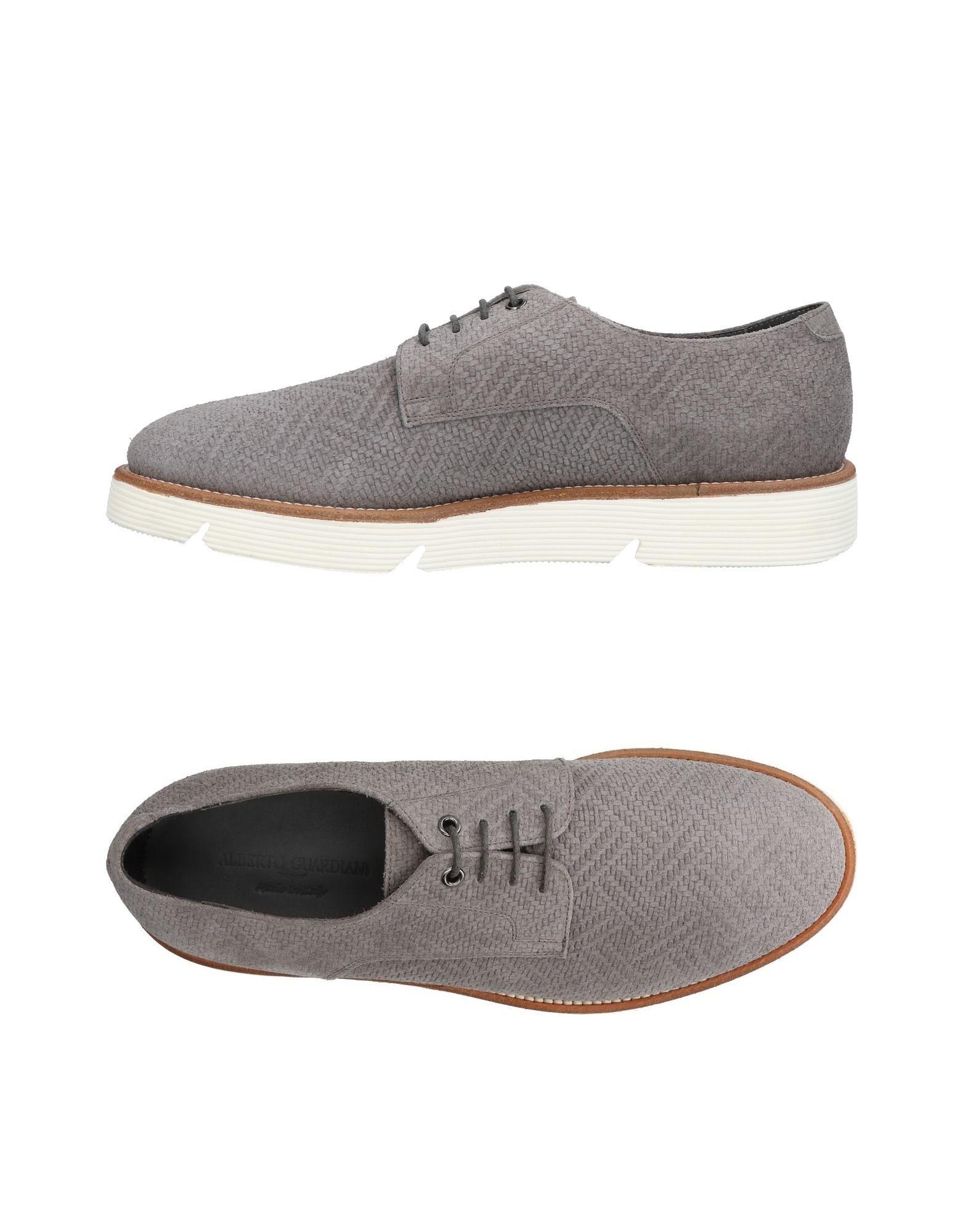 Rabatt echte Schuhe Alberto Guardiani Schnürschuhe Herren  11154010PF