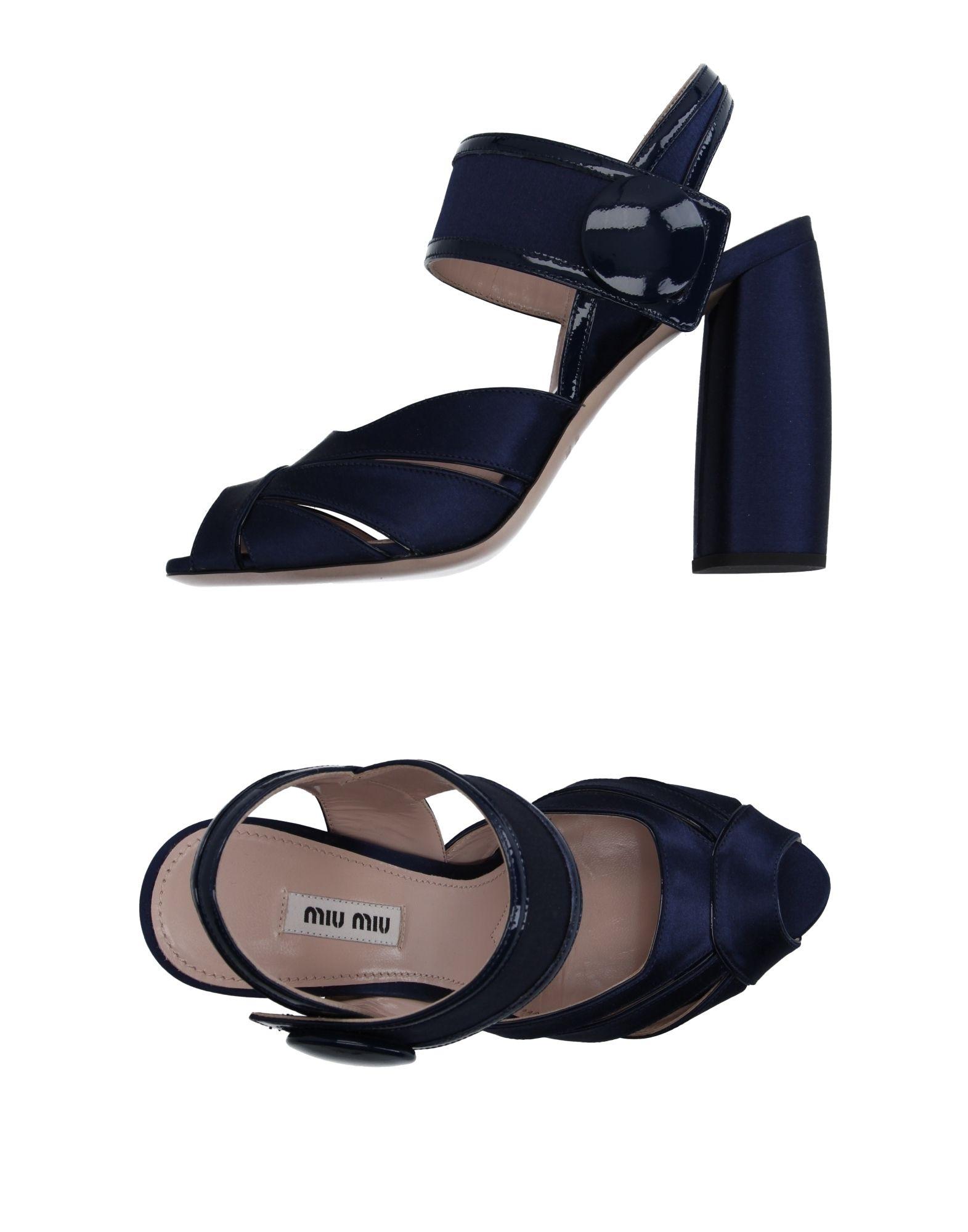 Miu Miu Sandals - Women Miu Miu Sandals online online online on  Canada - 11154899AX a42002