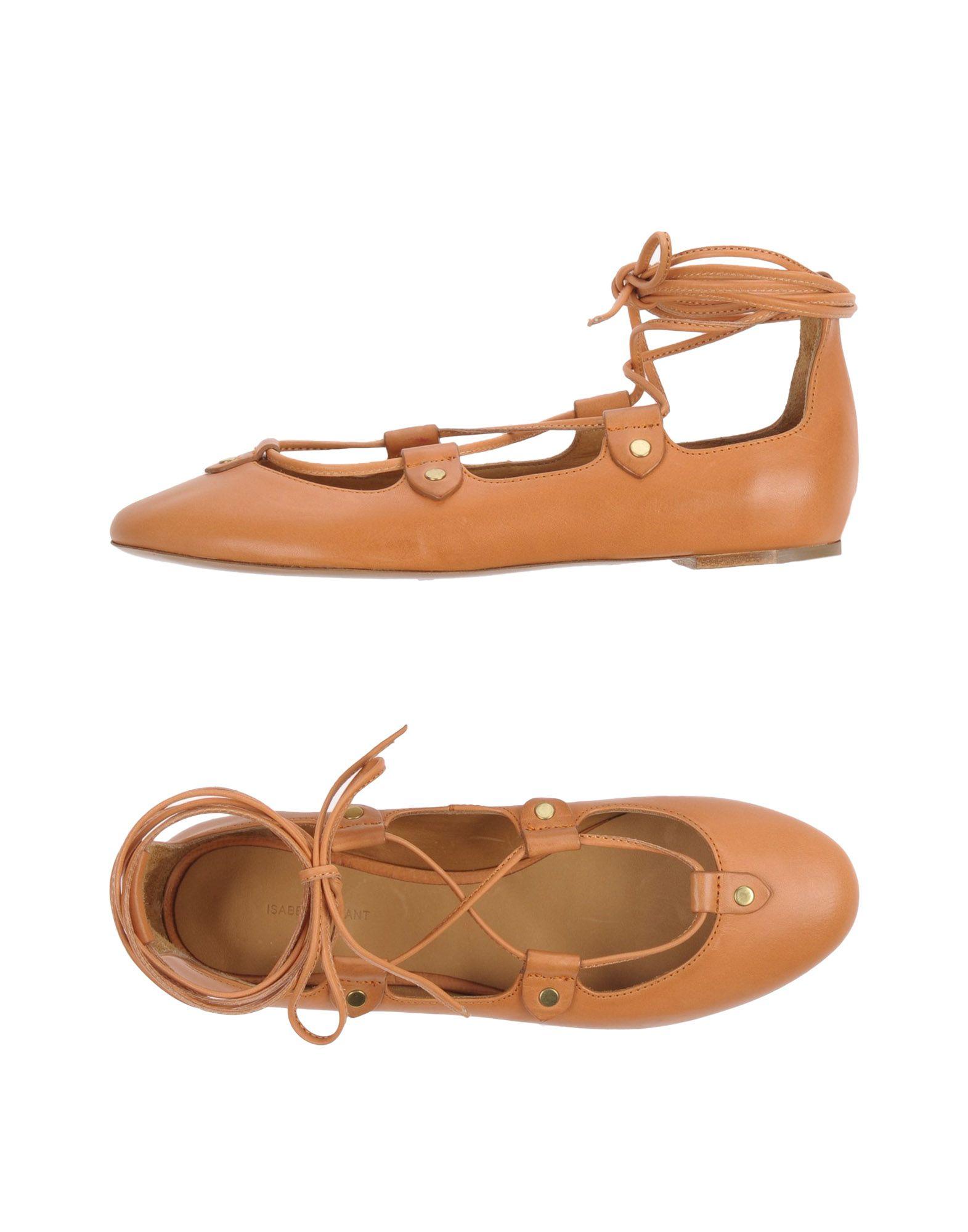 Stilvolle billige Schuhe Isabel Marant Ballerinas Damen  11155527CA