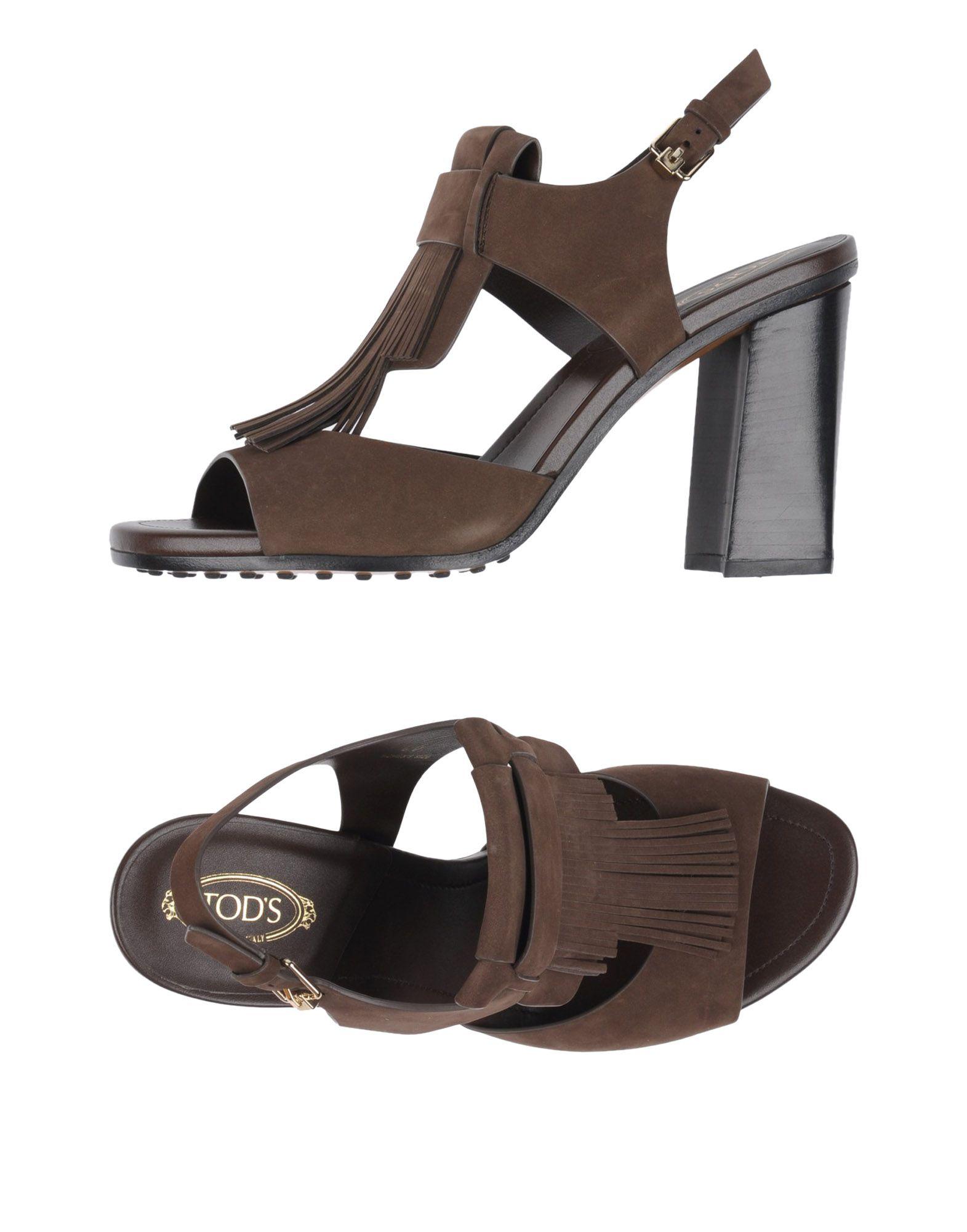 Tod's Sandalen Damen  11155833WMGut aussehende strapazierfähige Schuhe