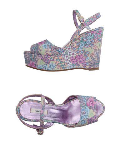 MANOUSH Sandals Purple Women