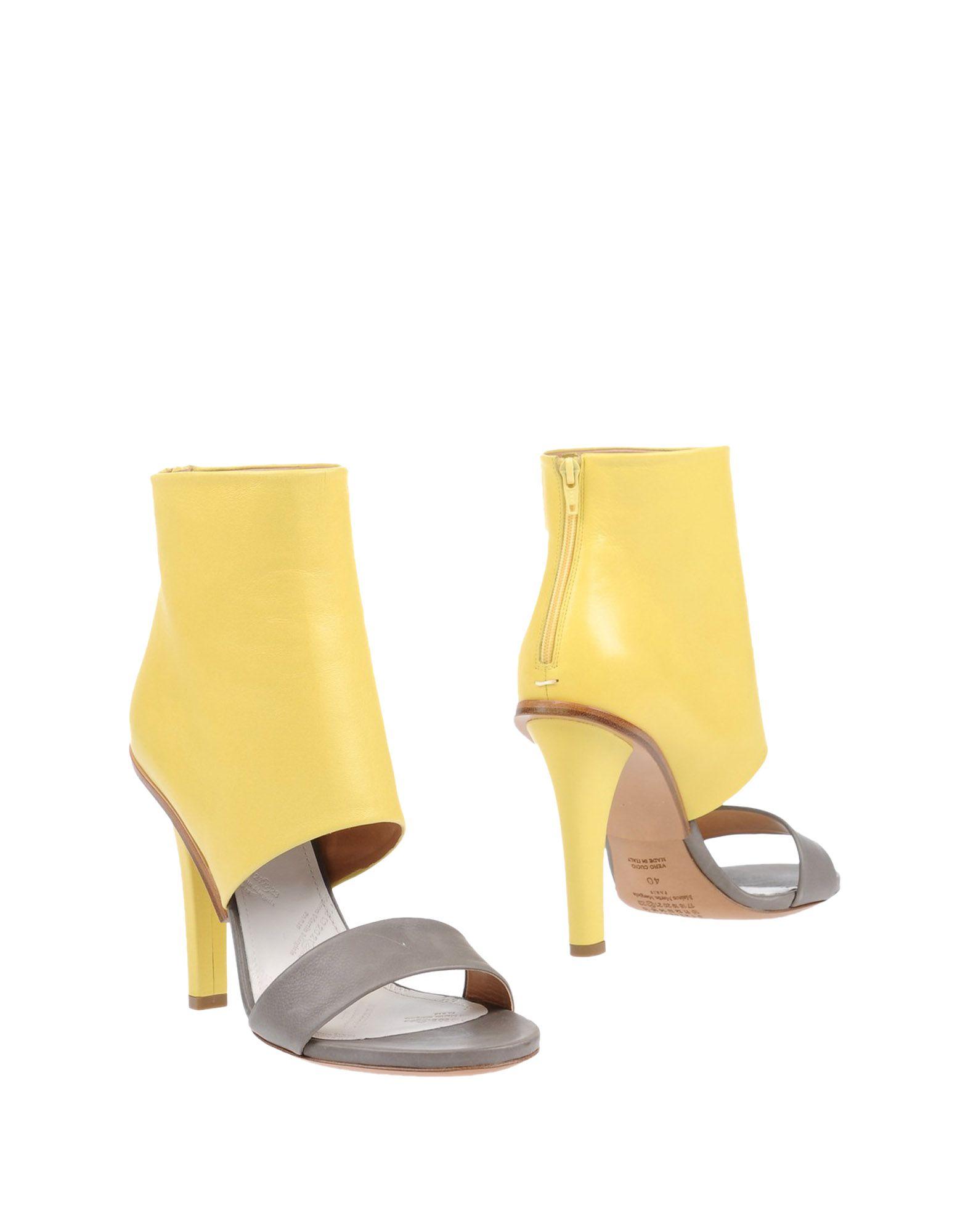Stilvolle billige Schuhe Maison Margiela Stiefelette Damen  11157190MK