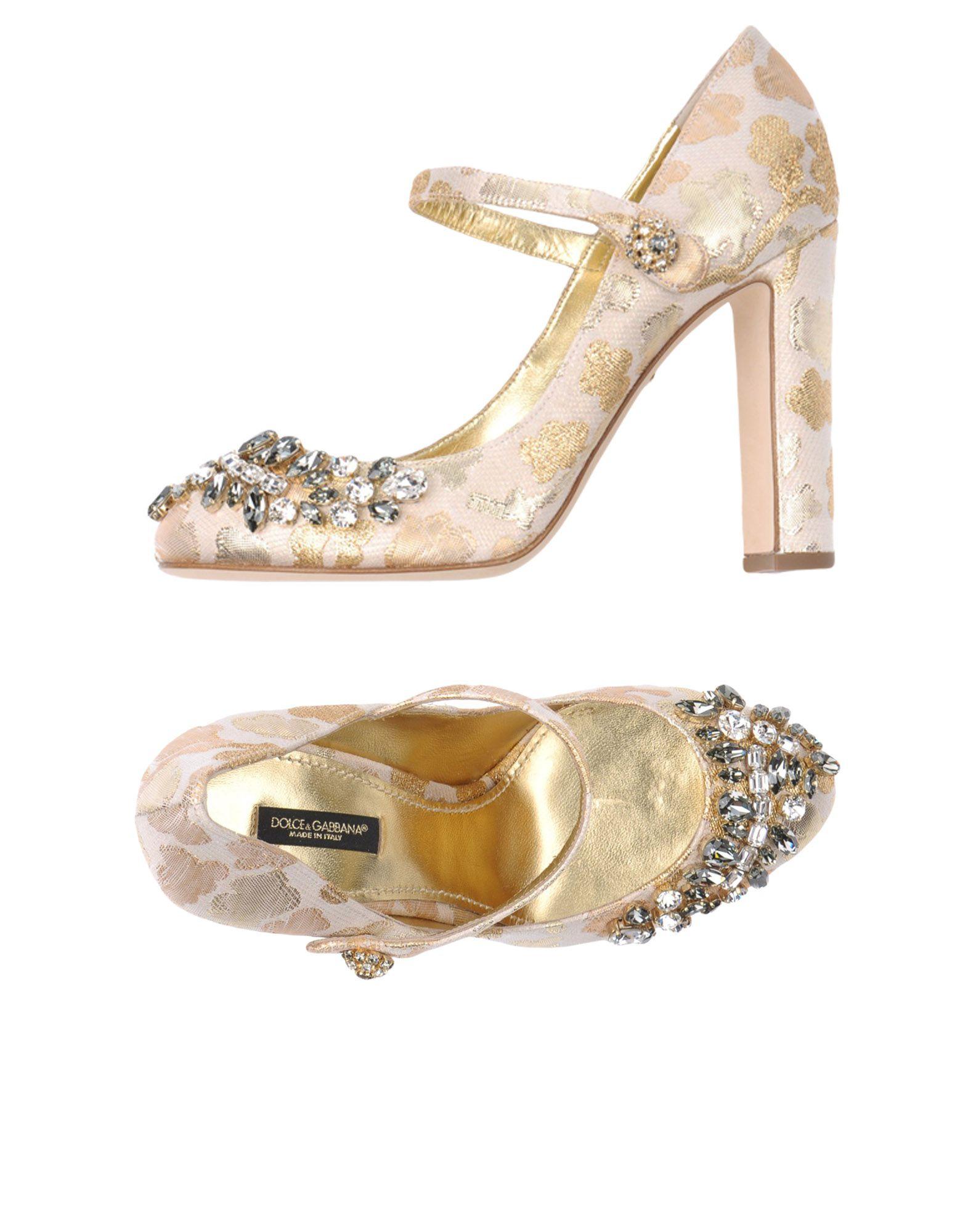 Dolce & Gabbana gut Pumps Damen  11158913THGünstige gut Gabbana aussehende Schuhe 47308e