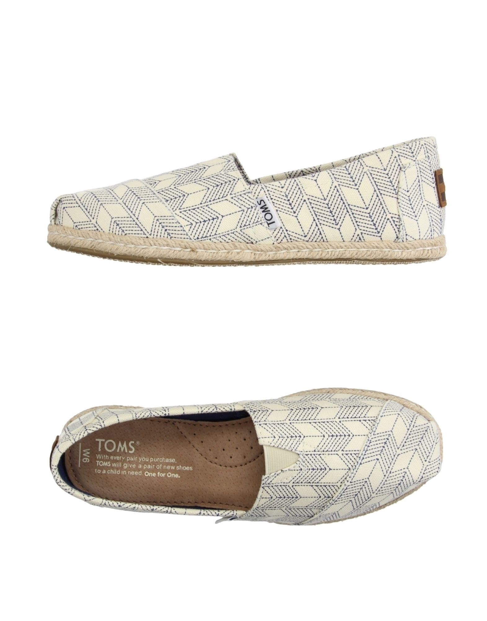 lowest price ae939 64274 TOMS Espadrilles - Footwear | YOOX.COM