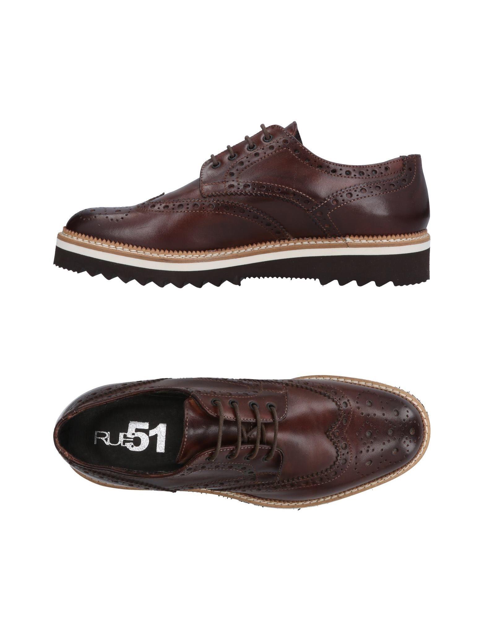 Rabatt echte Schuhe Rue 51 Schnürschuhe Herren  11160131BC