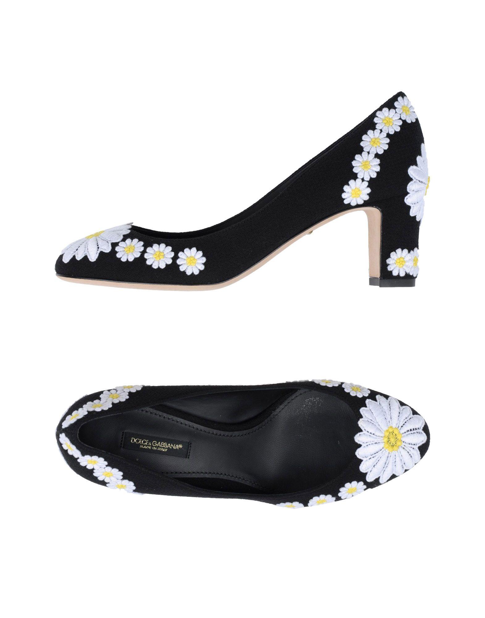 Casual salvaje Zapato De Salón Dolce & Dolce Gabbana Mujer - Salones Dolce & & Gabbana  Negro df7556