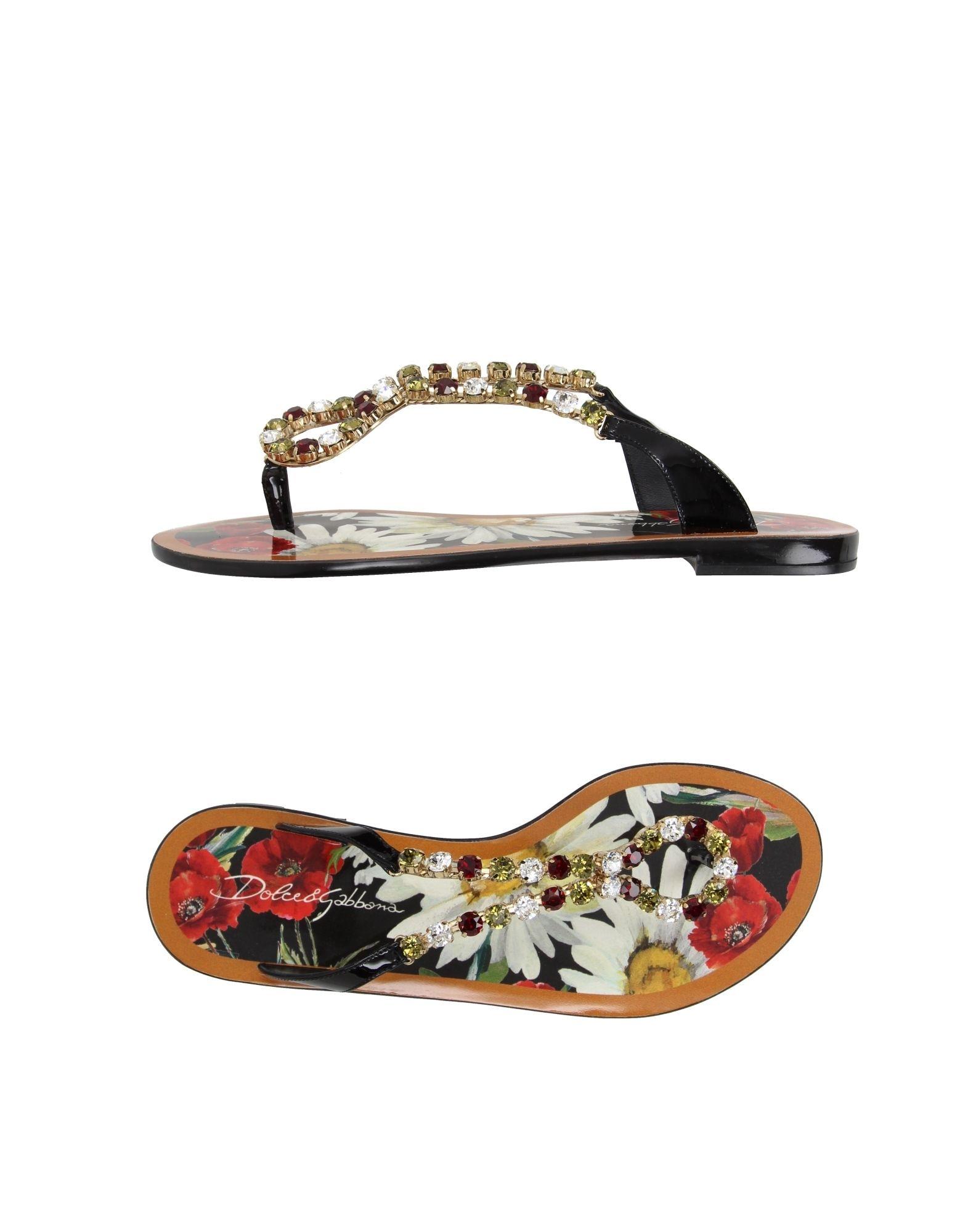 f3494671edb88b Dolce   Gabbana Flip Flops - Women Dolce   Gabbana Flip Flops online ...