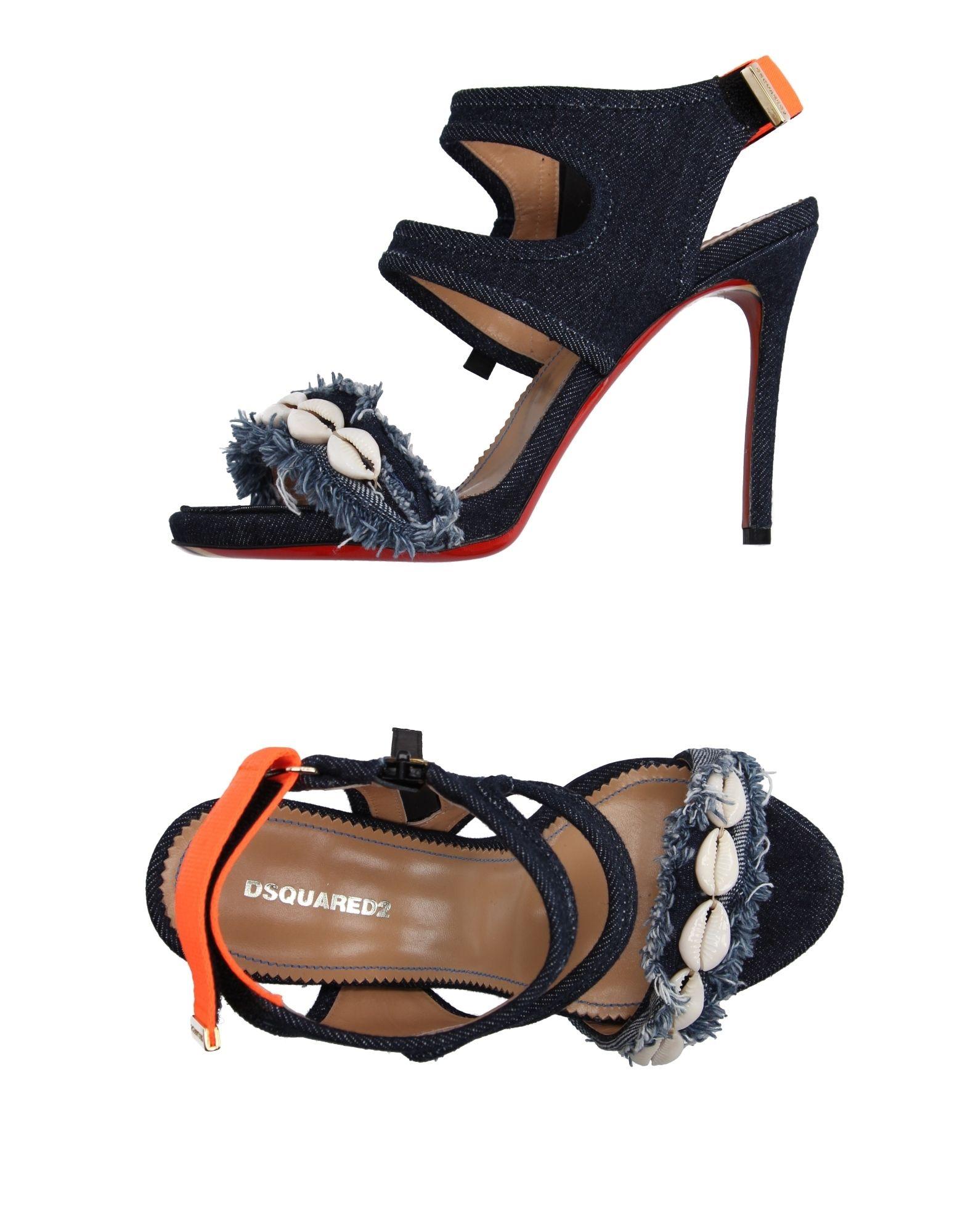 Haltbare Mode billige Schuhe Dsquared2 Sandalen Damen  11162105WQ Heiße Schuhe