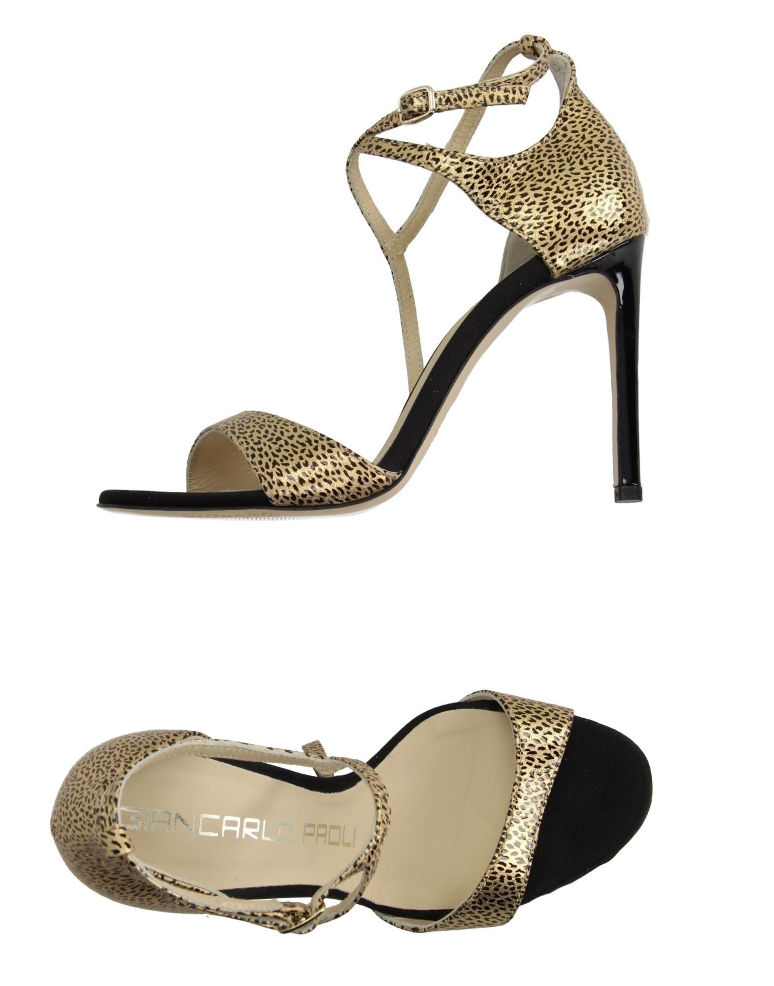 Giancarlo Paoli Sandalen Damen  11162221UOGut aussehende strapazierfähige Schuhe