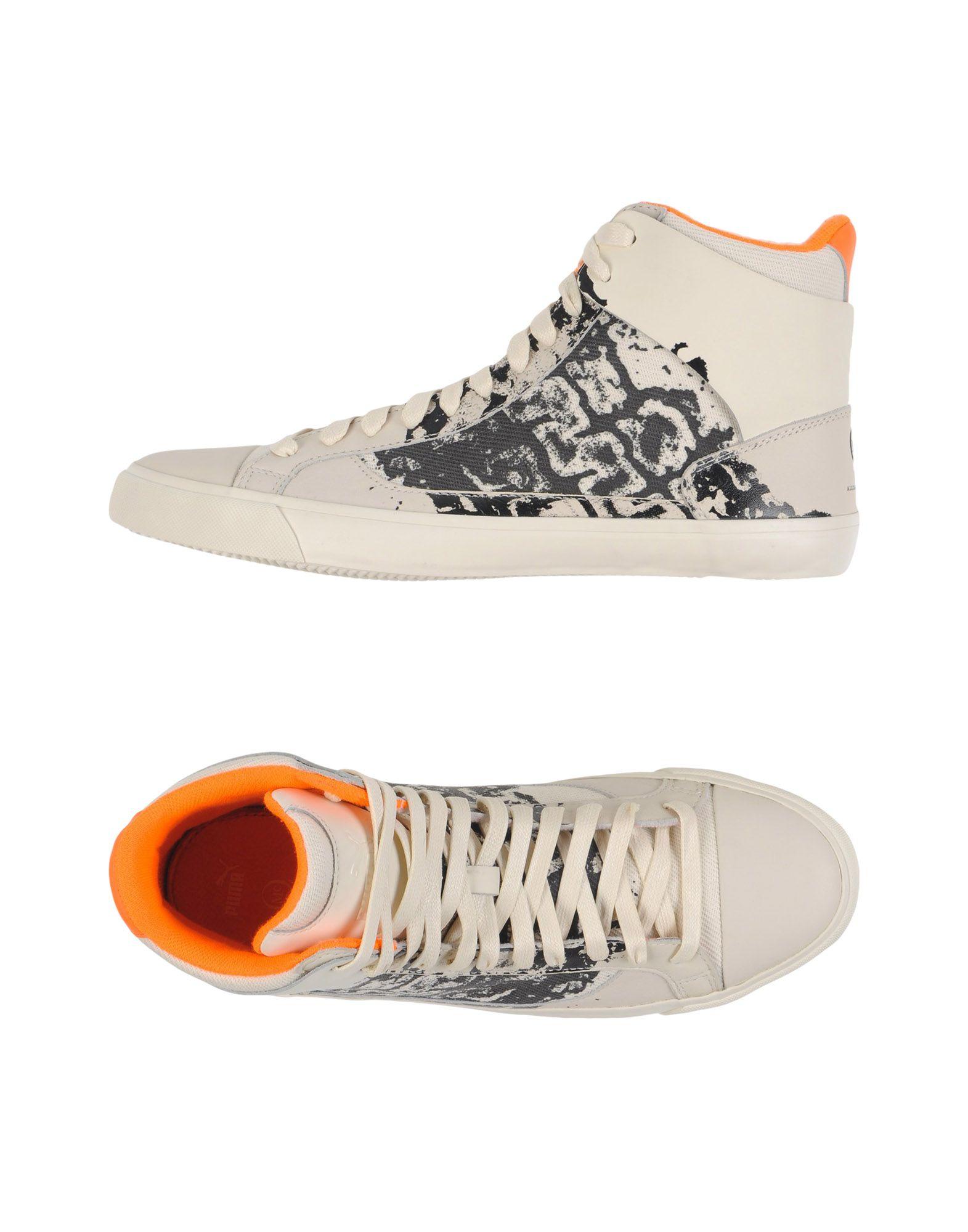 Sneakers Alexander Mcqueen Puma Femme - Sneakers Alexander Mcqueen Puma sur