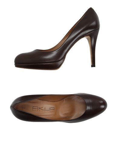 Zapatos casuales salvajes Zapato - De Salón Akua Mujer - Zapato Salones Akua - 11165490CI Café a0ed7a