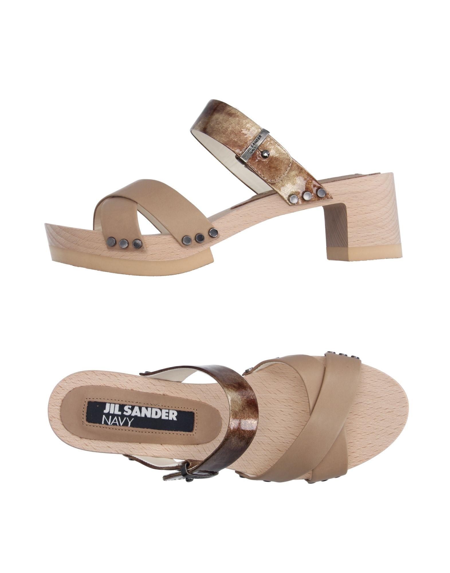 Jil Sander Pantoletten Navy Pantoletten Sander Damen  11167536VP Neue Schuhe b0426c