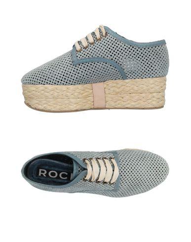 À Rochas Ciel Lacets Bleu Chaussures Cq5qz