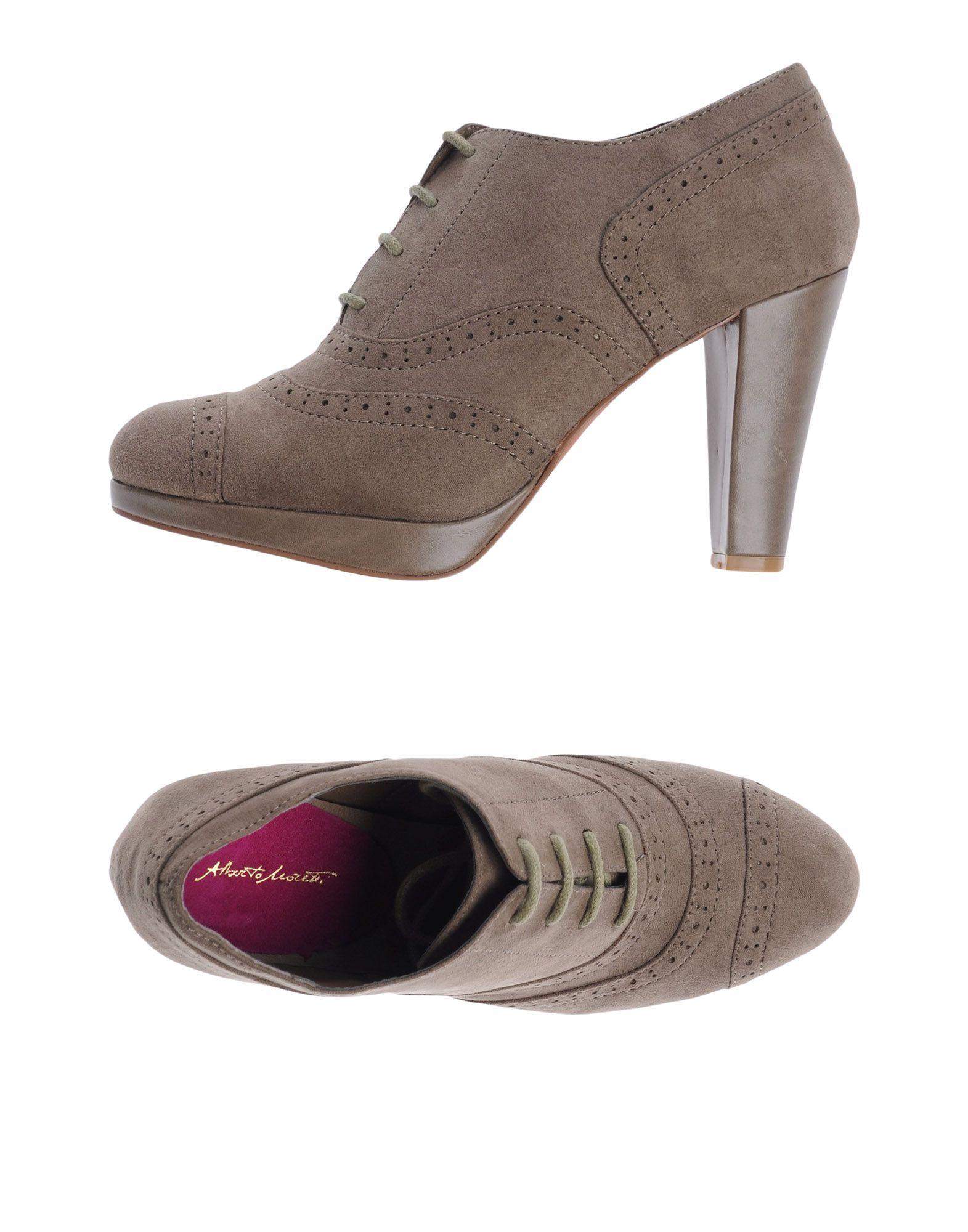 Venta de Cordones liquidación de temporada Zapato De Cordones de Alberto Moretti Mujer - Zapatos De Cordones Alberto Moretti  Arena 178d33