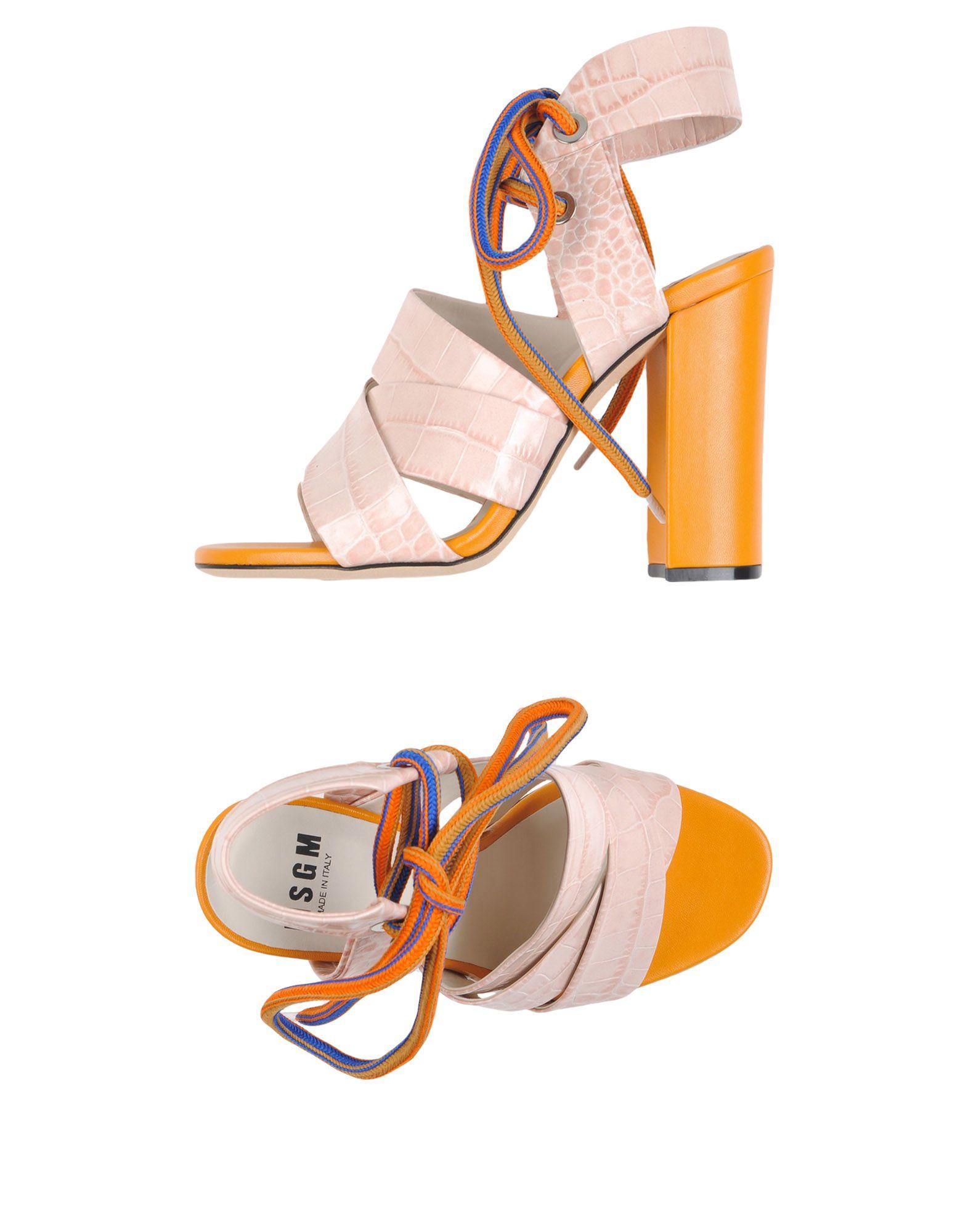 Msgm Sandalen Damen  11169263CCGut aussehende strapazierfähige Schuhe