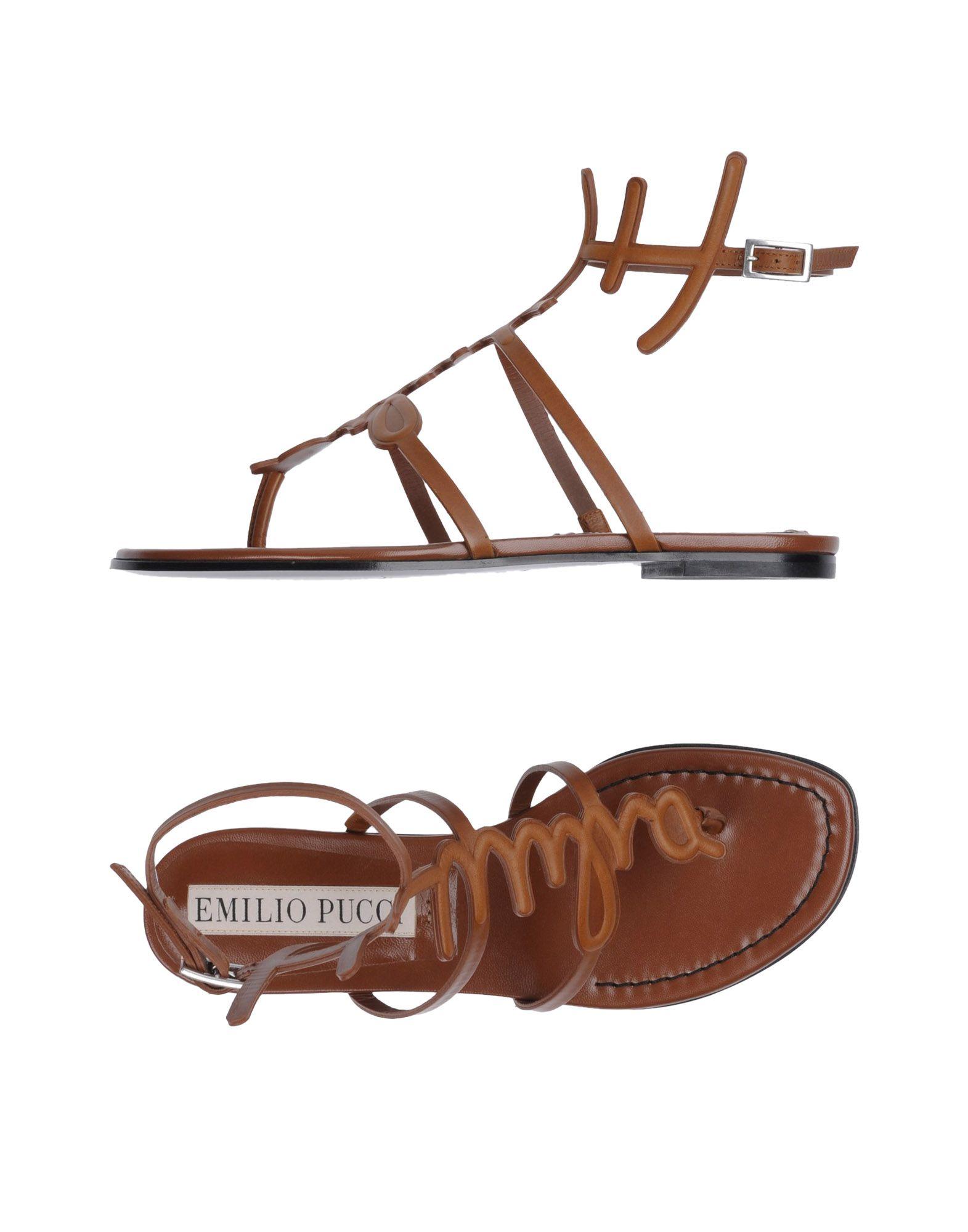 Emilio Pucci Dianetten Damen  11169625NPGut aussehende strapazierfähige Schuhe